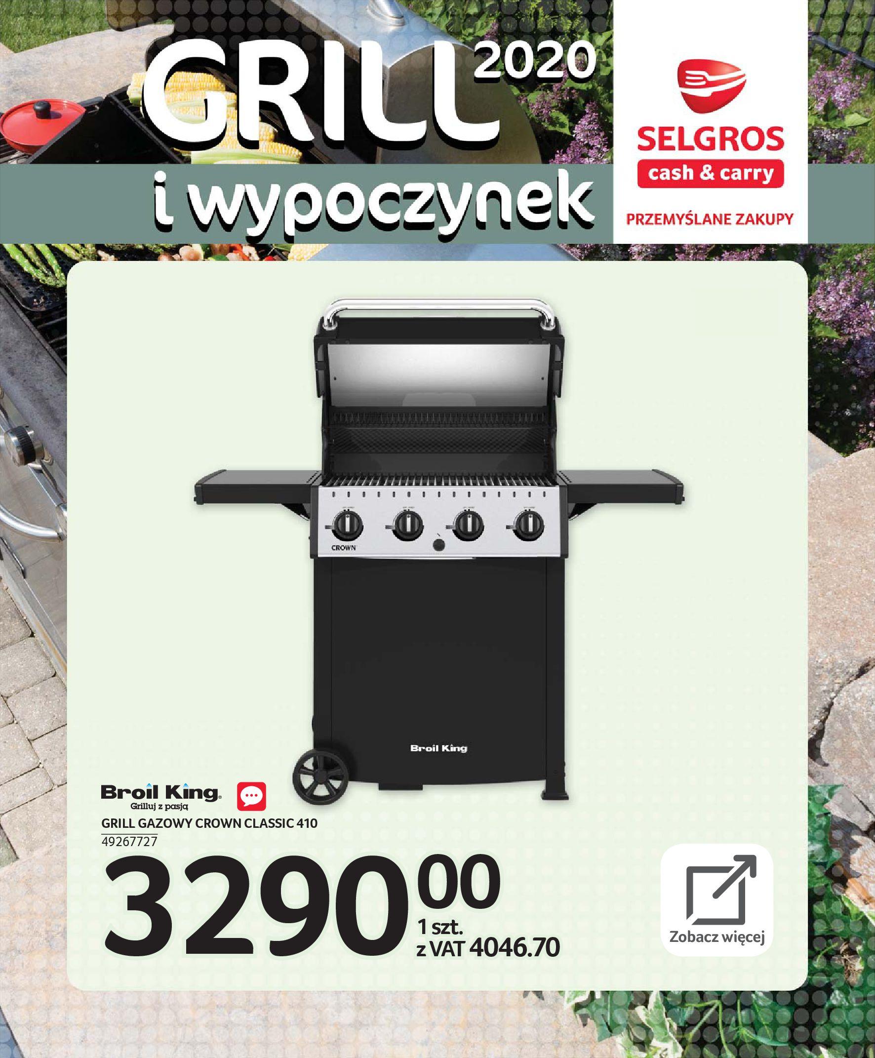Gazetka Selgros - Katalog - Grill i wypoczynek-31.03.2020-31.08.2020-page-45