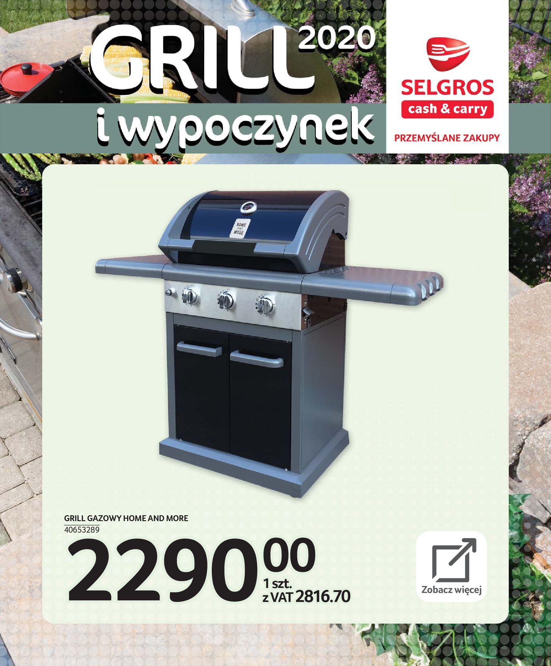 Gazetka Selgros - Katalog - Grill i wypoczynek-31.03.2020-31.08.2020-page-48