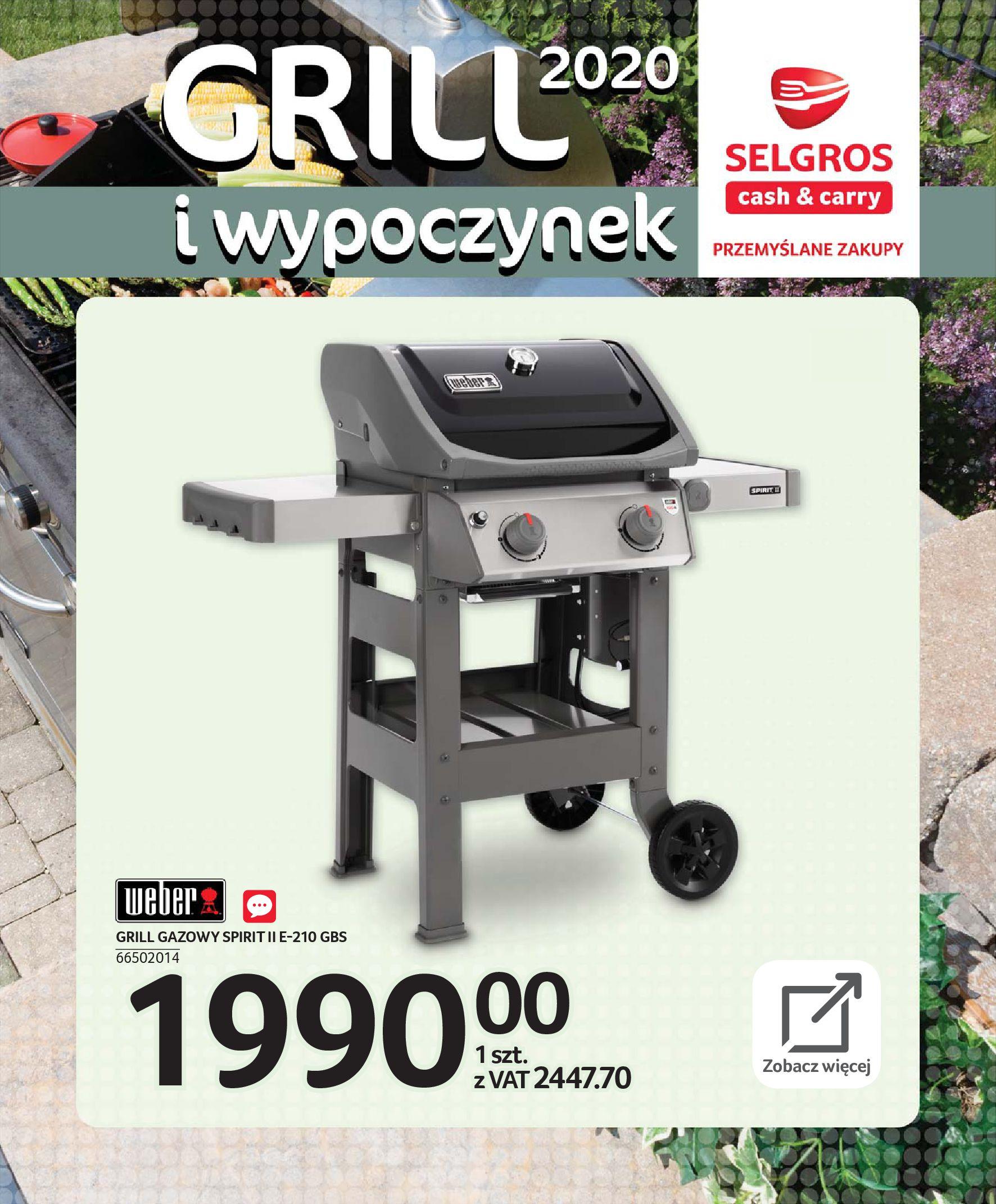 Gazetka Selgros - Katalog - Grill i wypoczynek-31.03.2020-31.08.2020-page-49