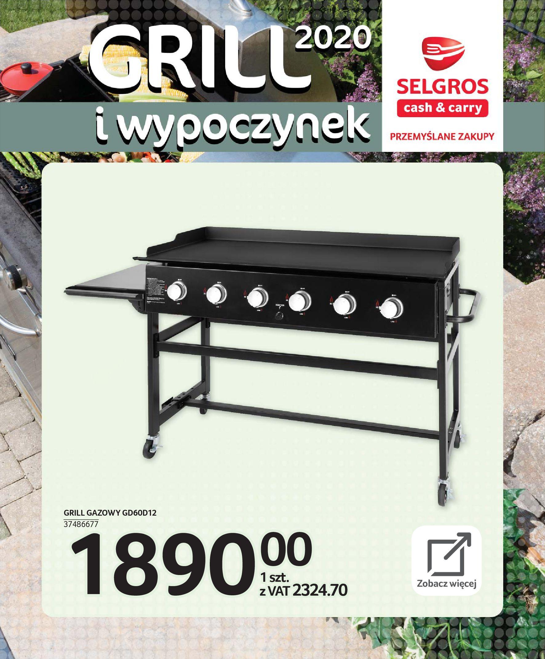Gazetka Selgros - Katalog - Grill i wypoczynek-31.03.2020-31.08.2020-page-50
