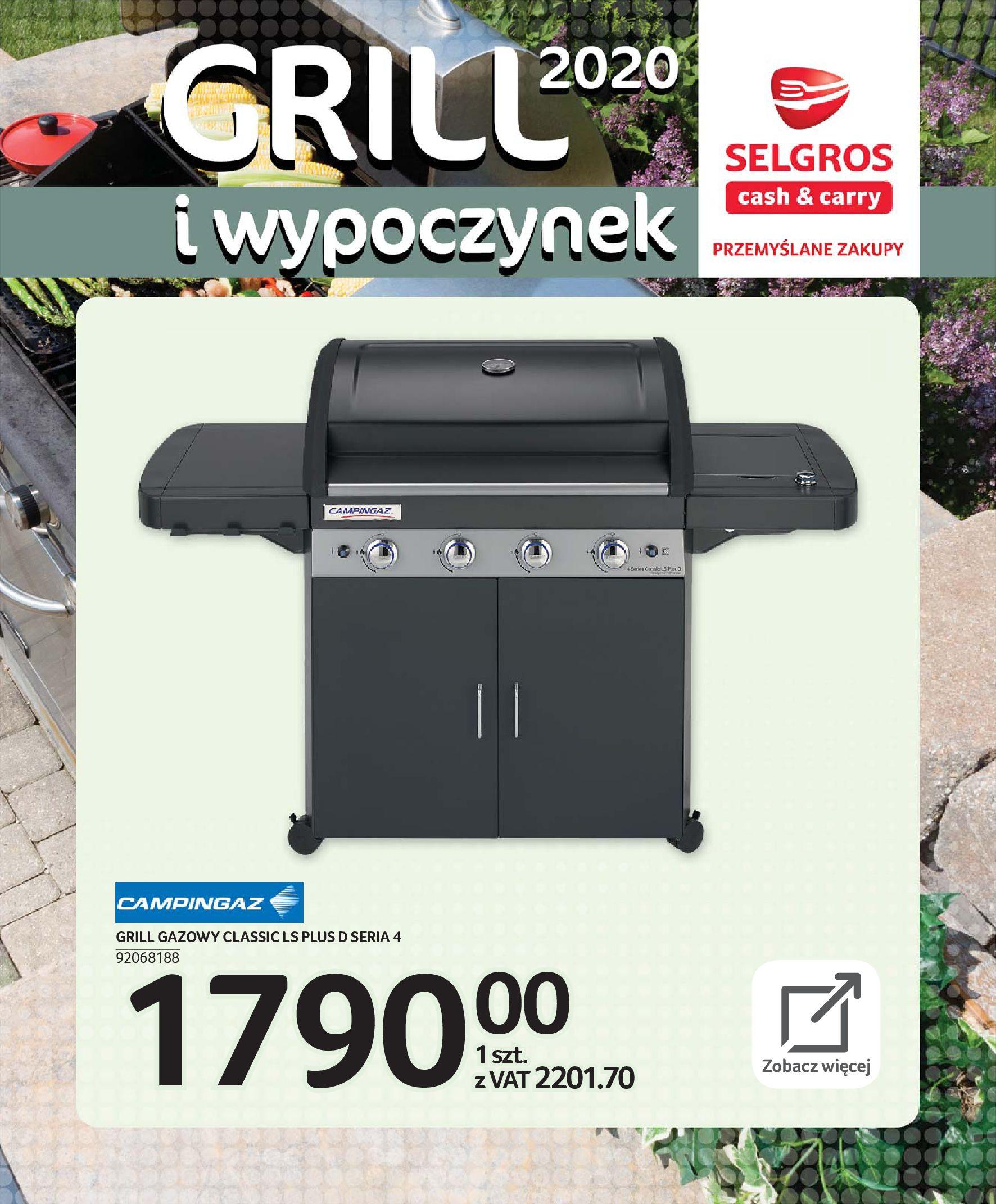 Gazetka Selgros - Katalog - Grill i wypoczynek-31.03.2020-31.08.2020-page-51