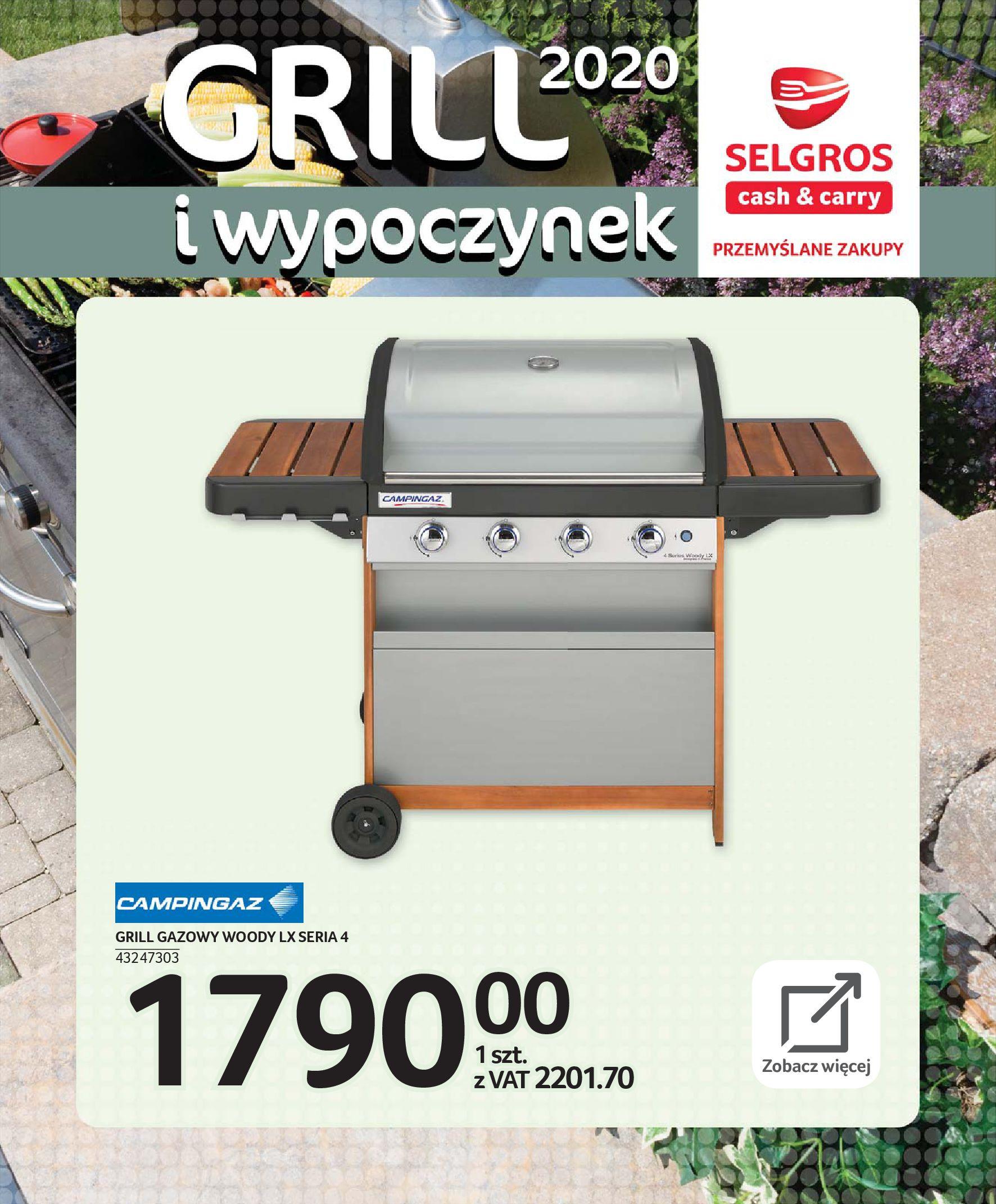 Gazetka Selgros - Katalog - Grill i wypoczynek-31.03.2020-31.08.2020-page-52