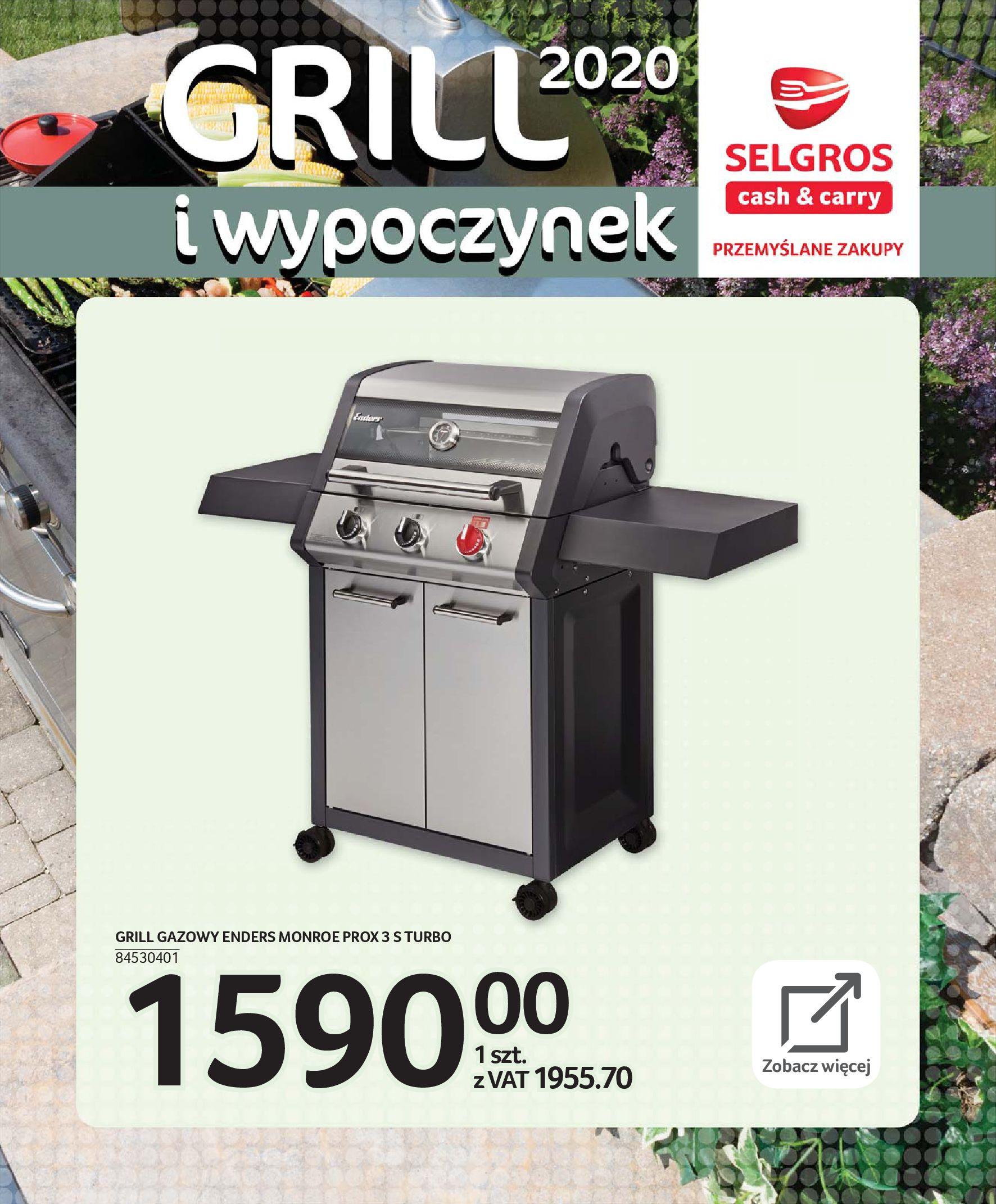 Gazetka Selgros - Katalog - Grill i wypoczynek-31.03.2020-31.08.2020-page-53