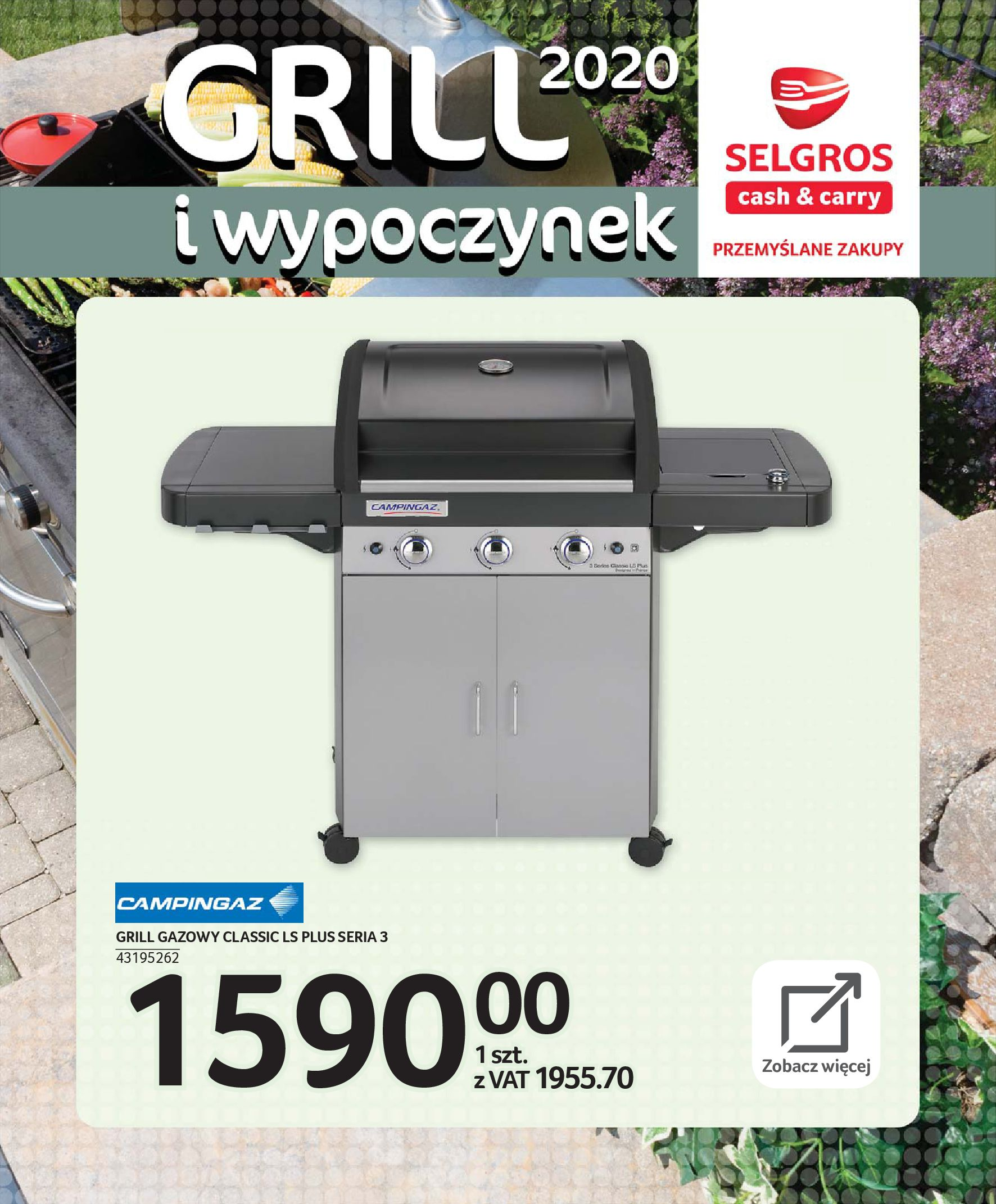 Gazetka Selgros - Katalog - Grill i wypoczynek-31.03.2020-31.08.2020-page-54