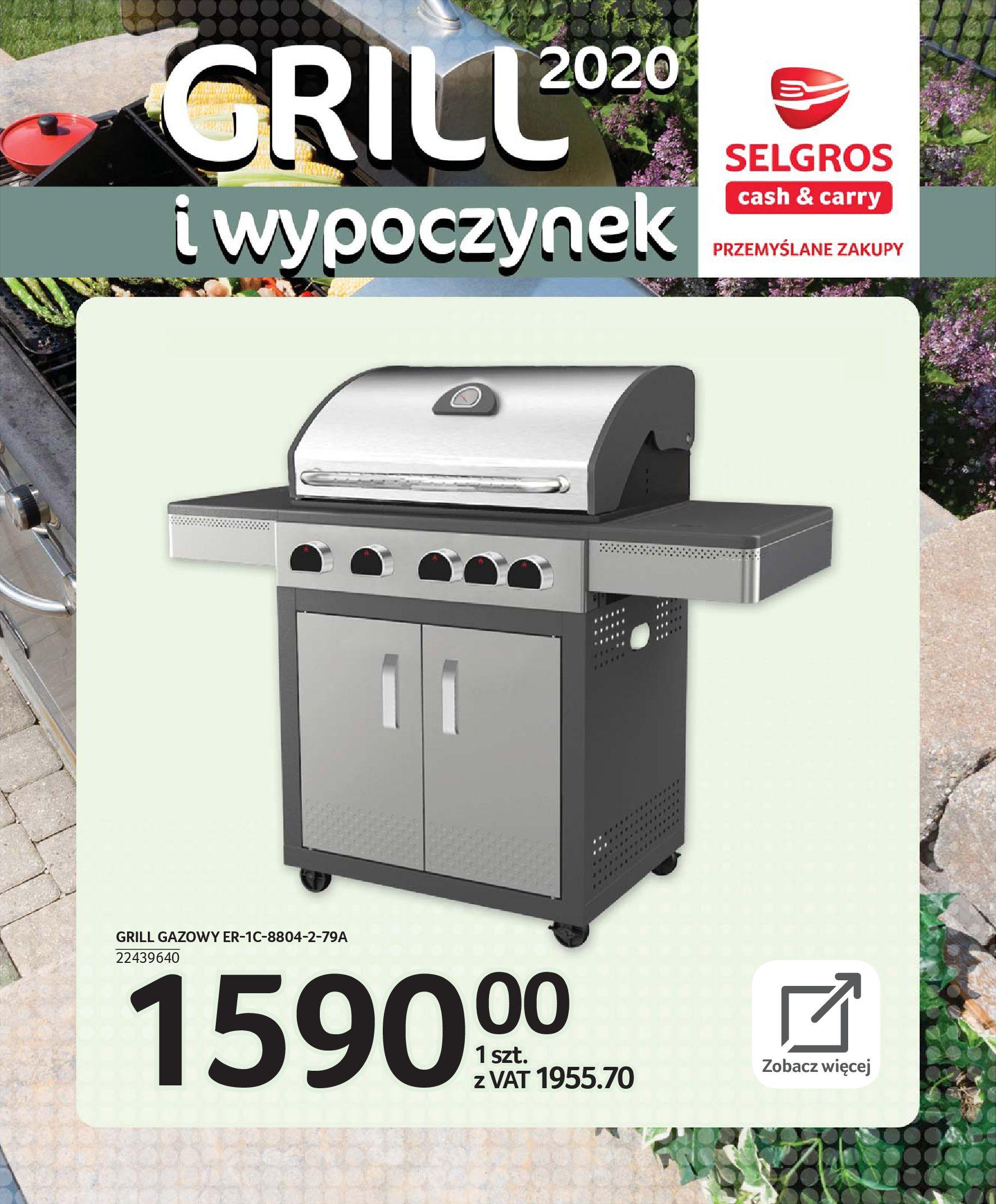 Gazetka Selgros - Katalog - Grill i wypoczynek-31.03.2020-31.08.2020-page-55