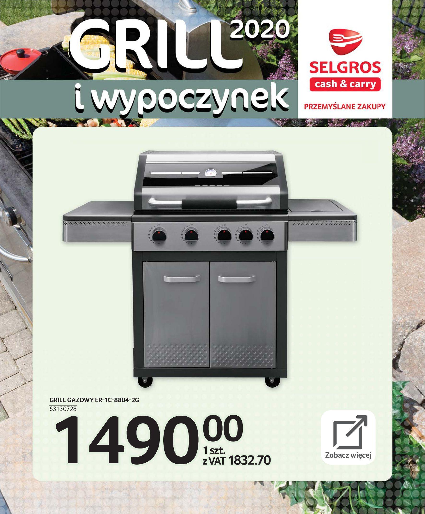 Gazetka Selgros - Katalog - Grill i wypoczynek-31.03.2020-31.08.2020-page-56