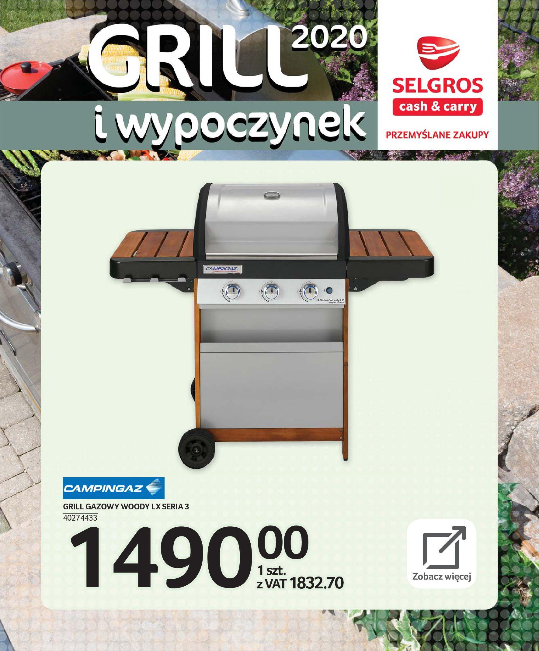 Gazetka Selgros - Katalog - Grill i wypoczynek-31.03.2020-31.08.2020-page-57