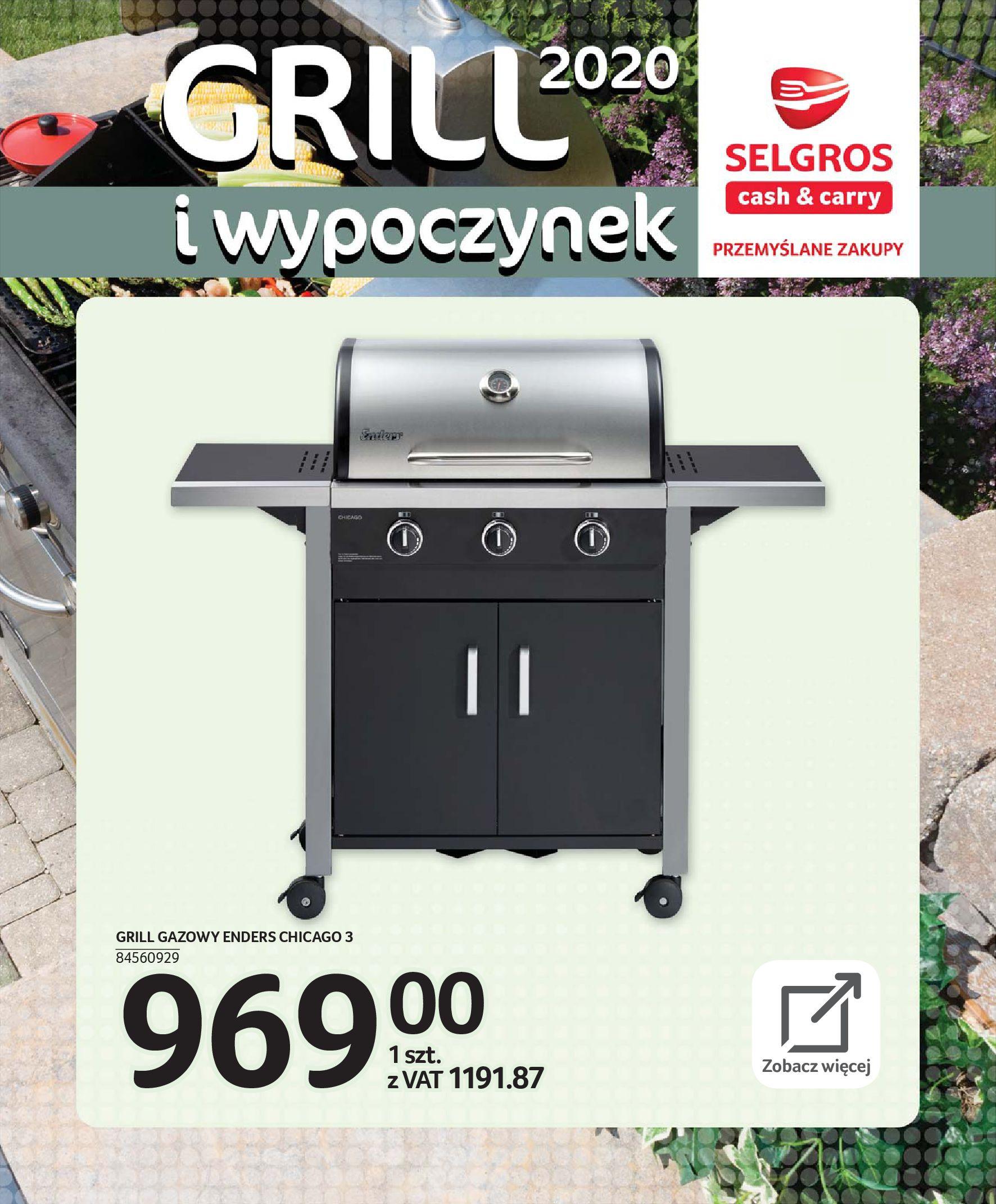 Gazetka Selgros - Katalog - Grill i wypoczynek-31.03.2020-31.08.2020-page-59