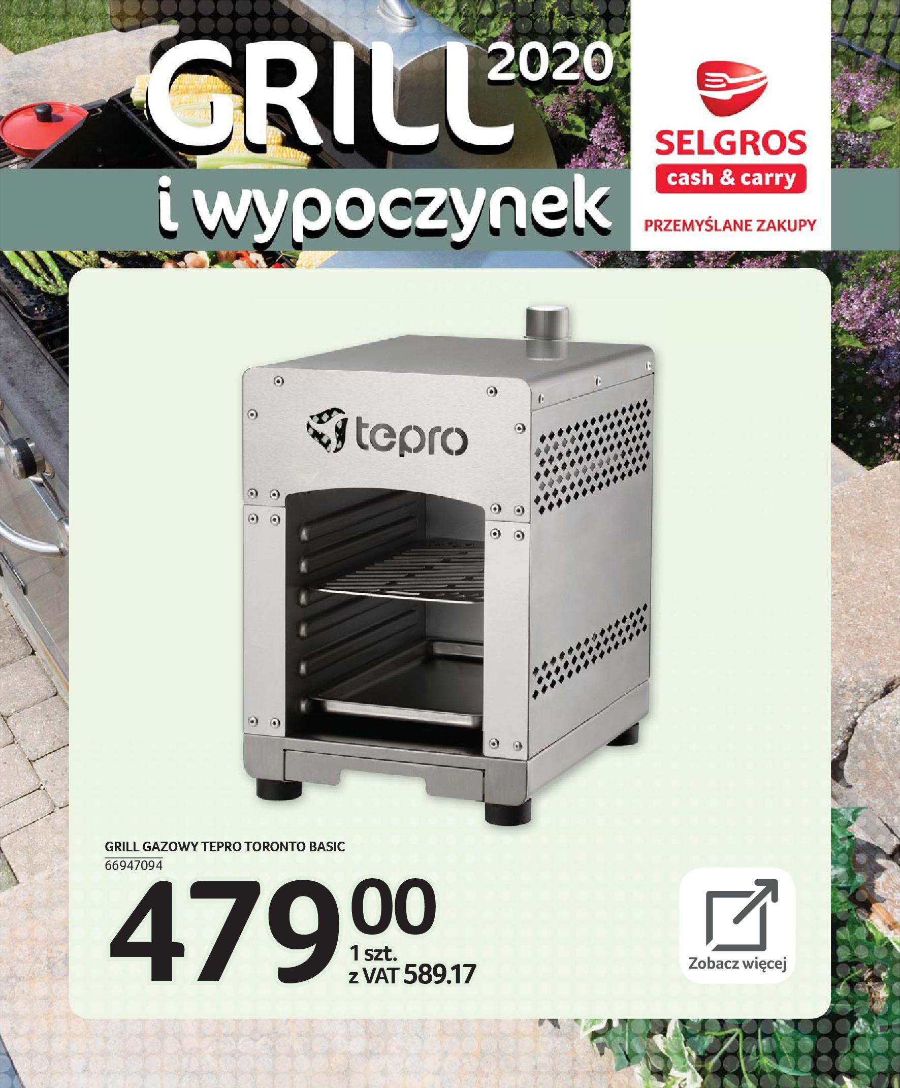Gazetka Selgros - Katalog - Grill i wypoczynek-31.03.2020-31.08.2020-page-60