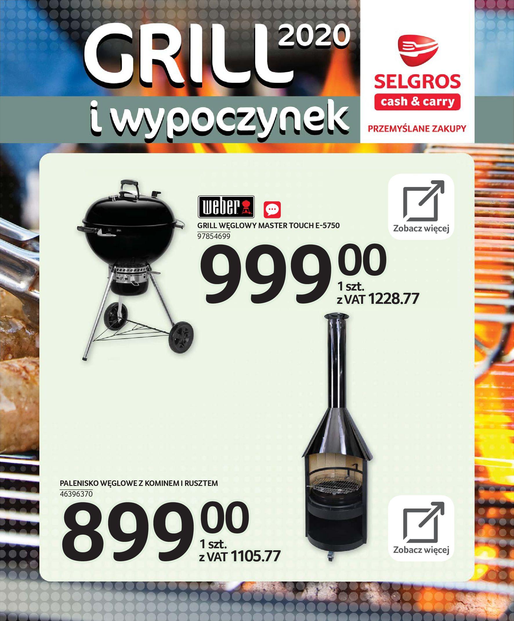 Gazetka Selgros - Katalog - Grill i wypoczynek-31.03.2020-31.08.2020-page-61