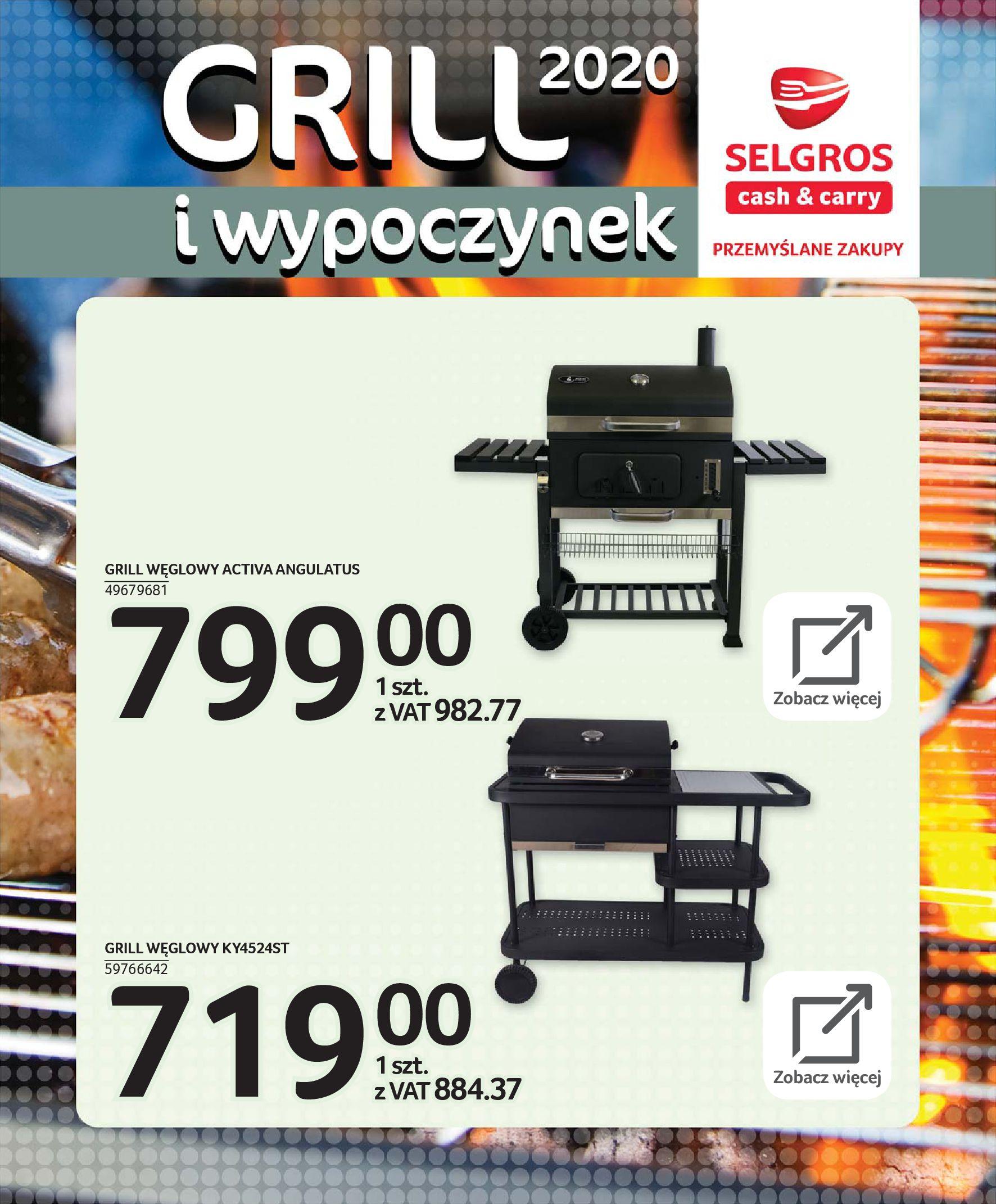 Gazetka Selgros - Katalog - Grill i wypoczynek-31.03.2020-31.08.2020-page-62
