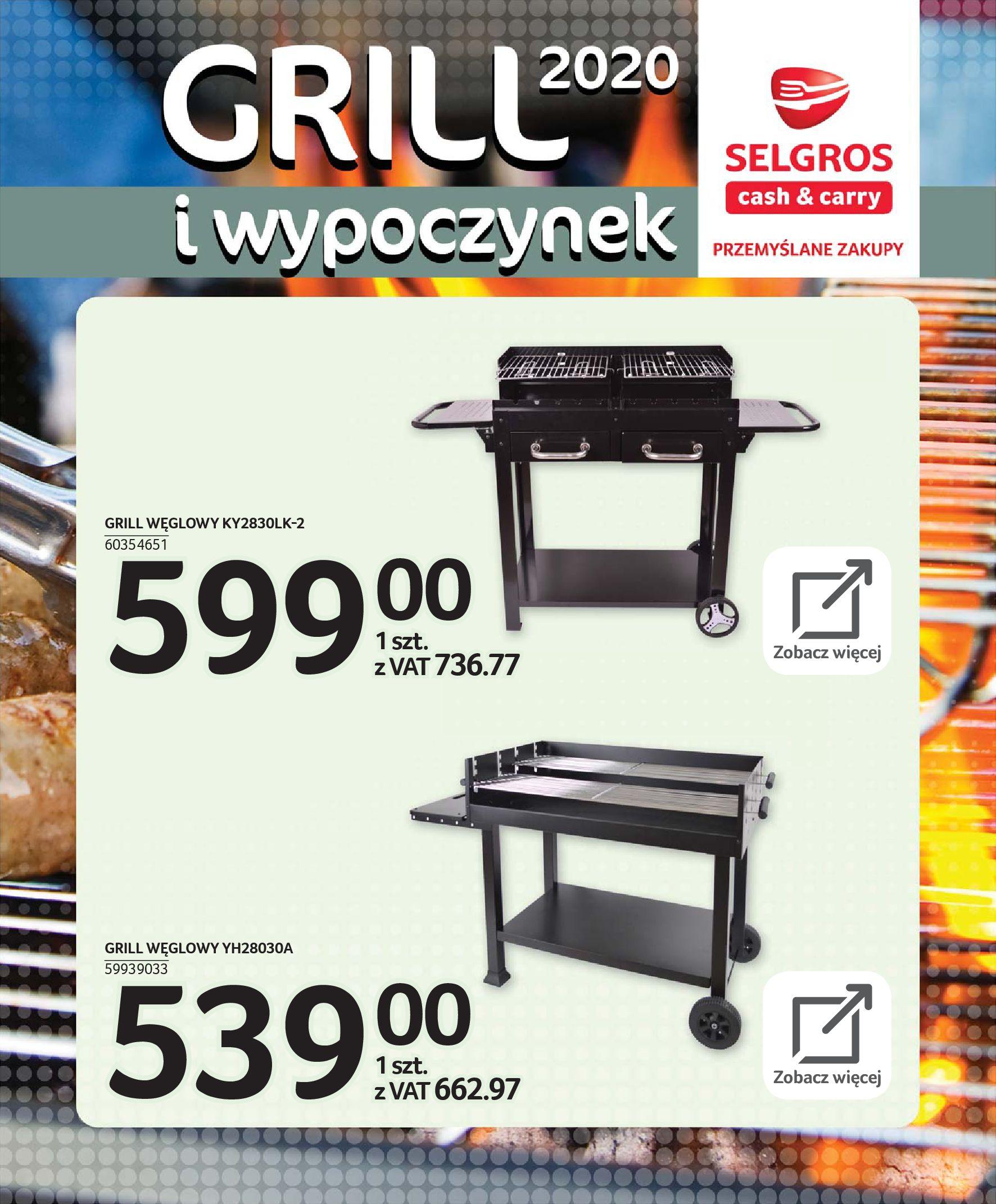 Gazetka Selgros - Katalog - Grill i wypoczynek-31.03.2020-31.08.2020-page-63