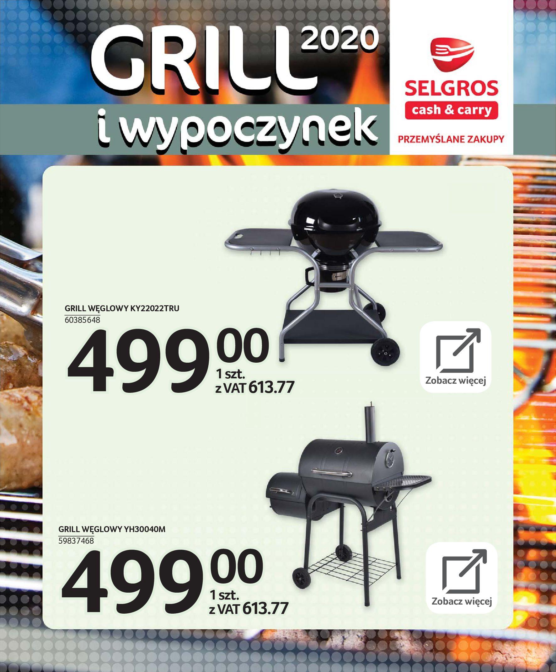 Gazetka Selgros - Katalog - Grill i wypoczynek-31.03.2020-31.08.2020-page-64