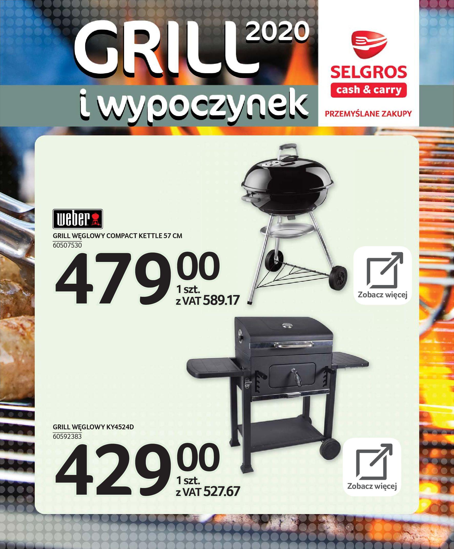 Gazetka Selgros - Katalog - Grill i wypoczynek-31.03.2020-31.08.2020-page-65
