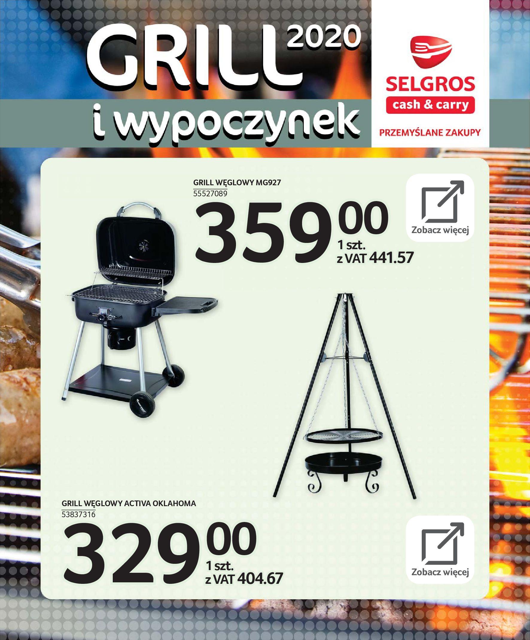 Gazetka Selgros - Katalog - Grill i wypoczynek-31.03.2020-31.08.2020-page-66