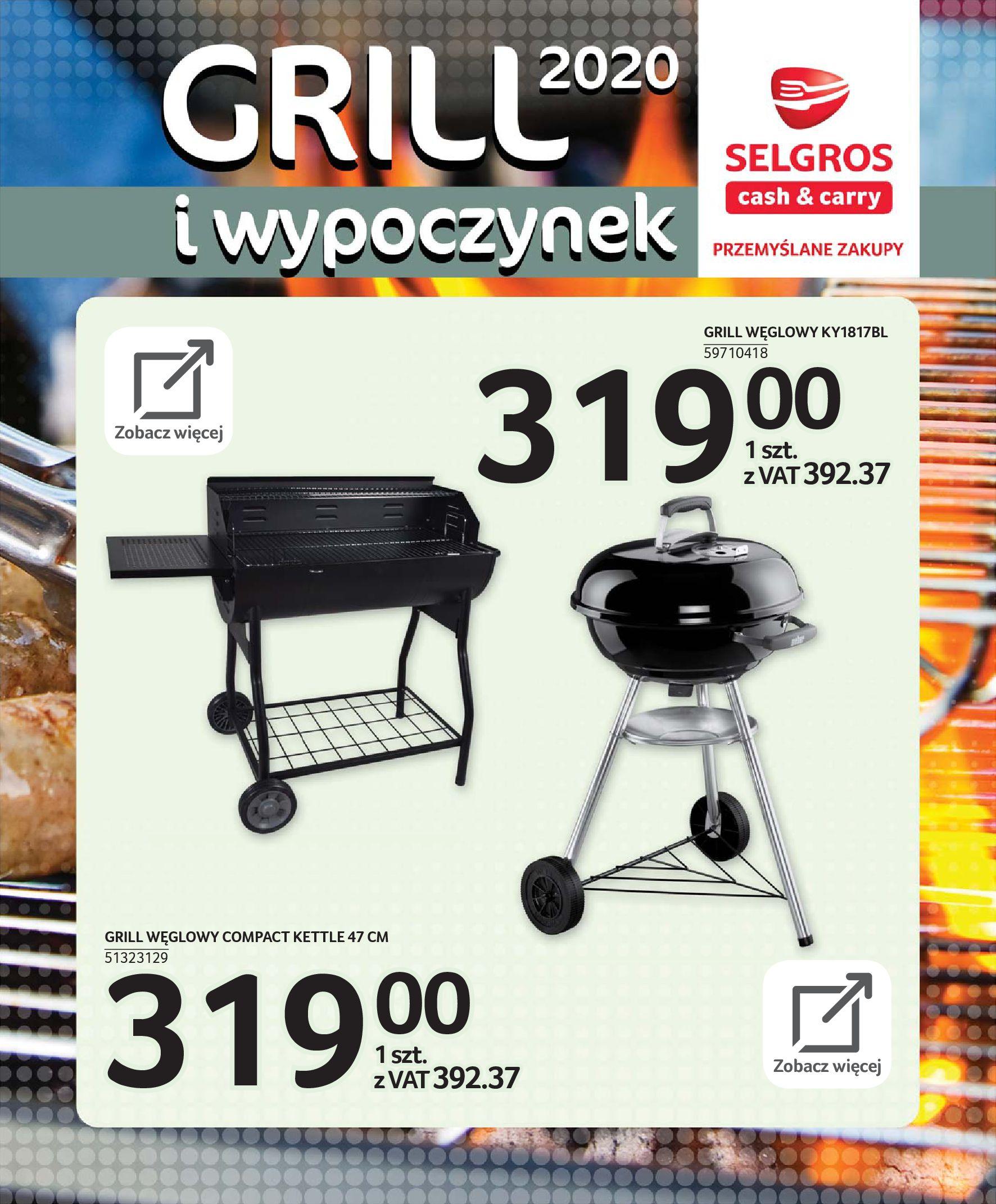 Gazetka Selgros - Katalog - Grill i wypoczynek-31.03.2020-31.08.2020-page-67