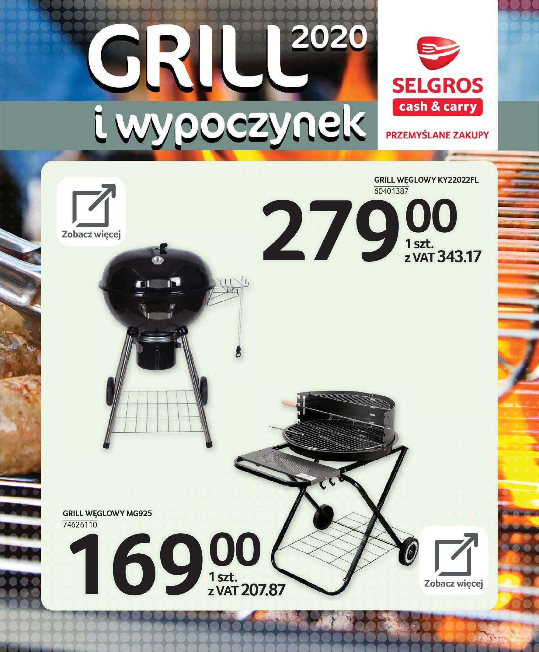 Gazetka Selgros - Katalog - Grill i wypoczynek-31.03.2020-31.08.2020-page-68