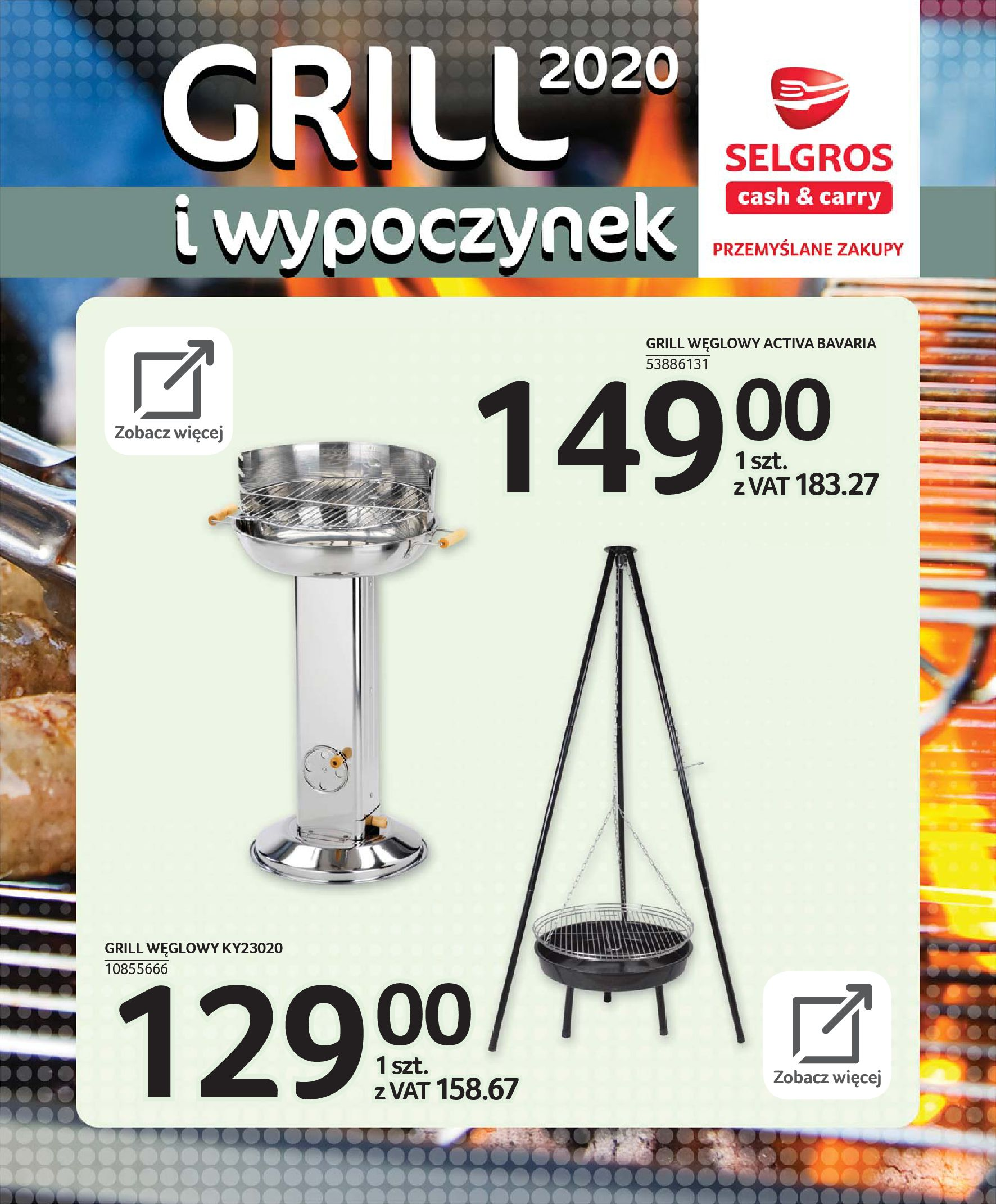Gazetka Selgros - Katalog - Grill i wypoczynek-31.03.2020-31.08.2020-page-69