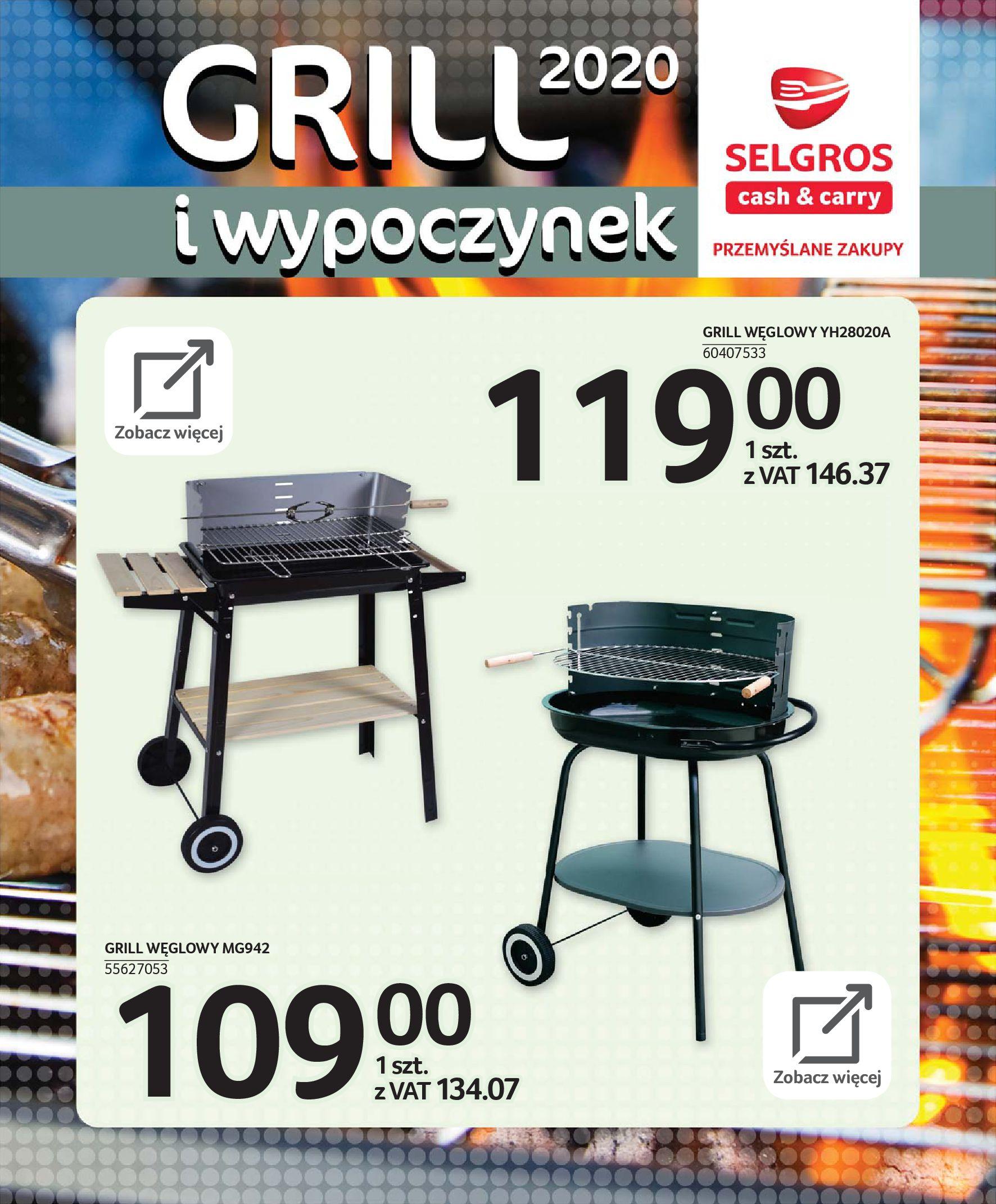 Gazetka Selgros - Katalog - Grill i wypoczynek-31.03.2020-31.08.2020-page-70