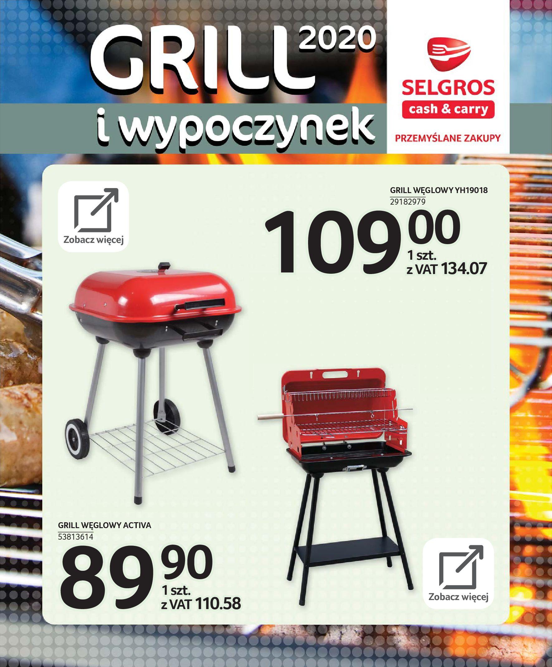 Gazetka Selgros - Katalog - Grill i wypoczynek-31.03.2020-31.08.2020-page-71