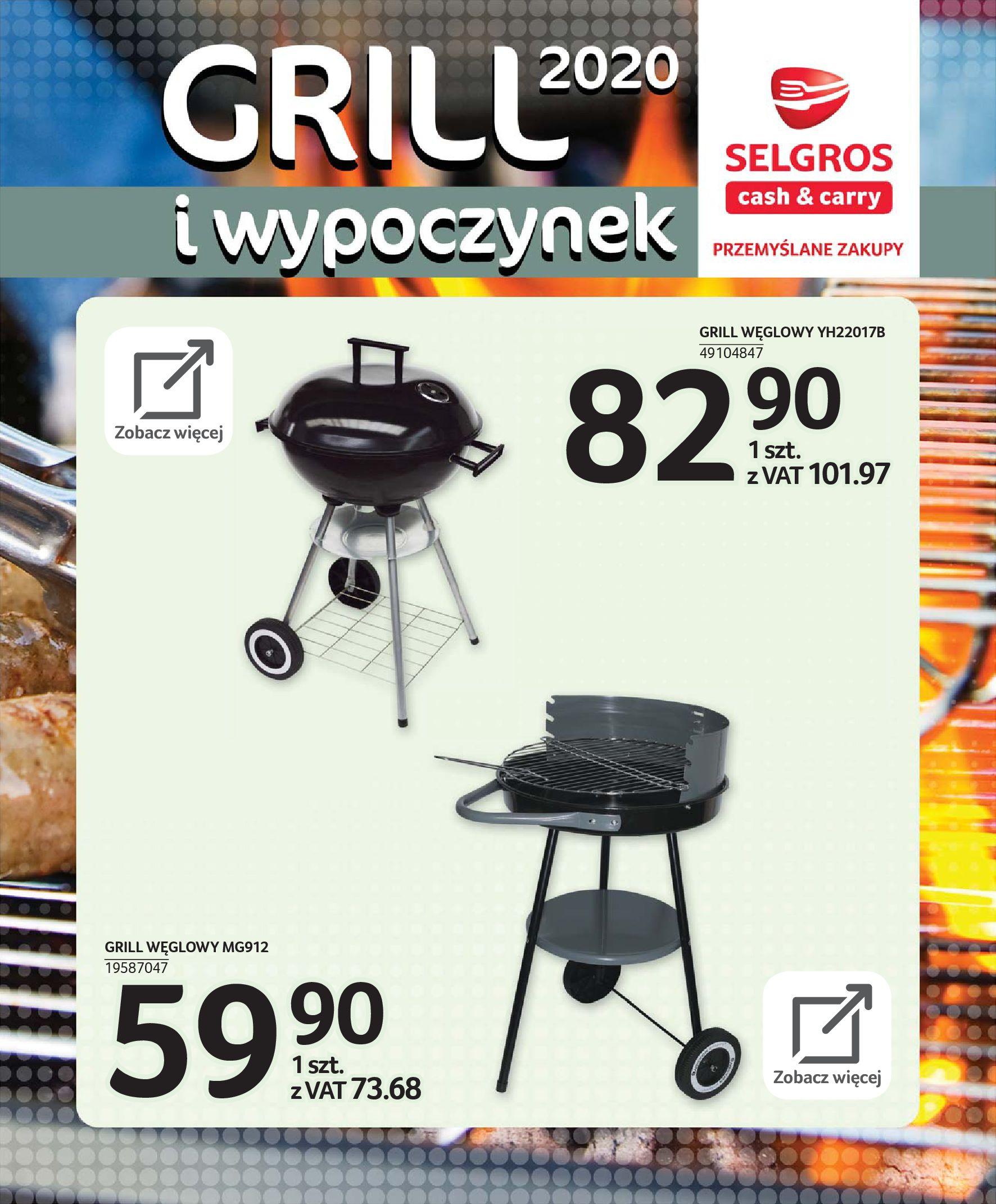 Gazetka Selgros - Katalog - Grill i wypoczynek-31.03.2020-31.08.2020-page-72