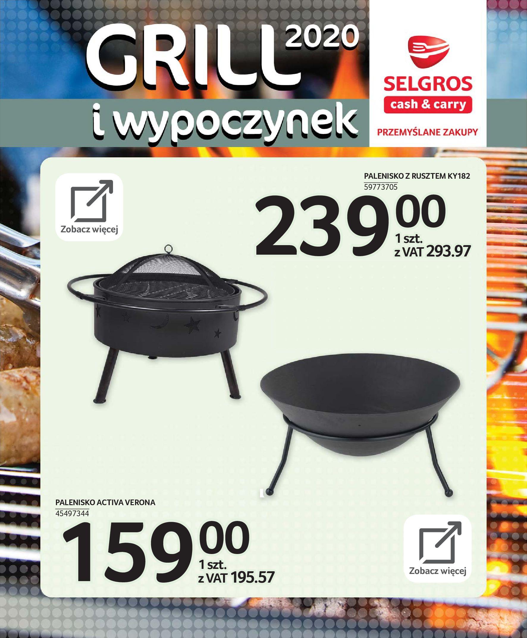 Gazetka Selgros - Katalog - Grill i wypoczynek-31.03.2020-31.08.2020-page-73
