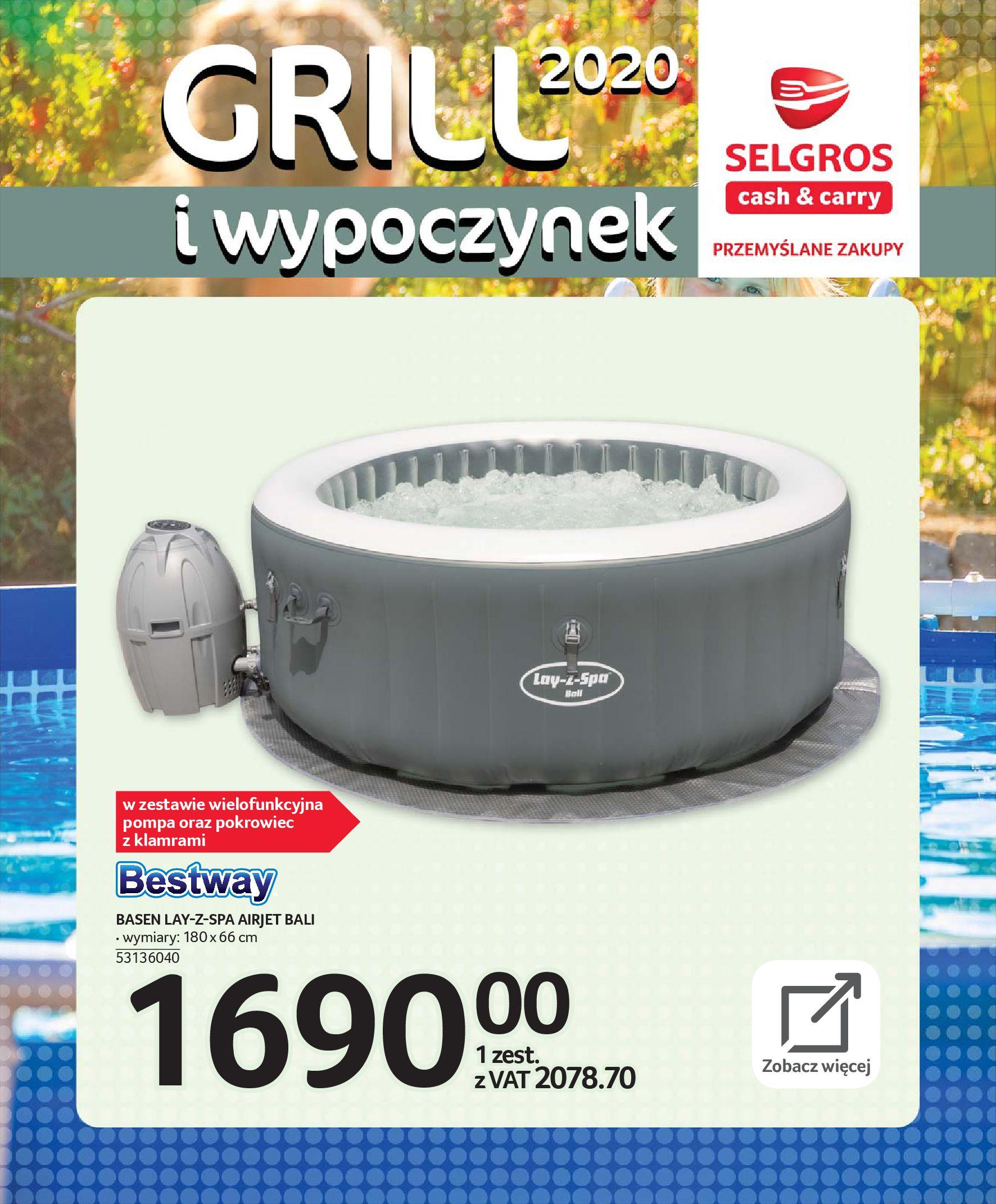Gazetka Selgros - Katalog - Grill i wypoczynek-31.03.2020-31.08.2020-page-82