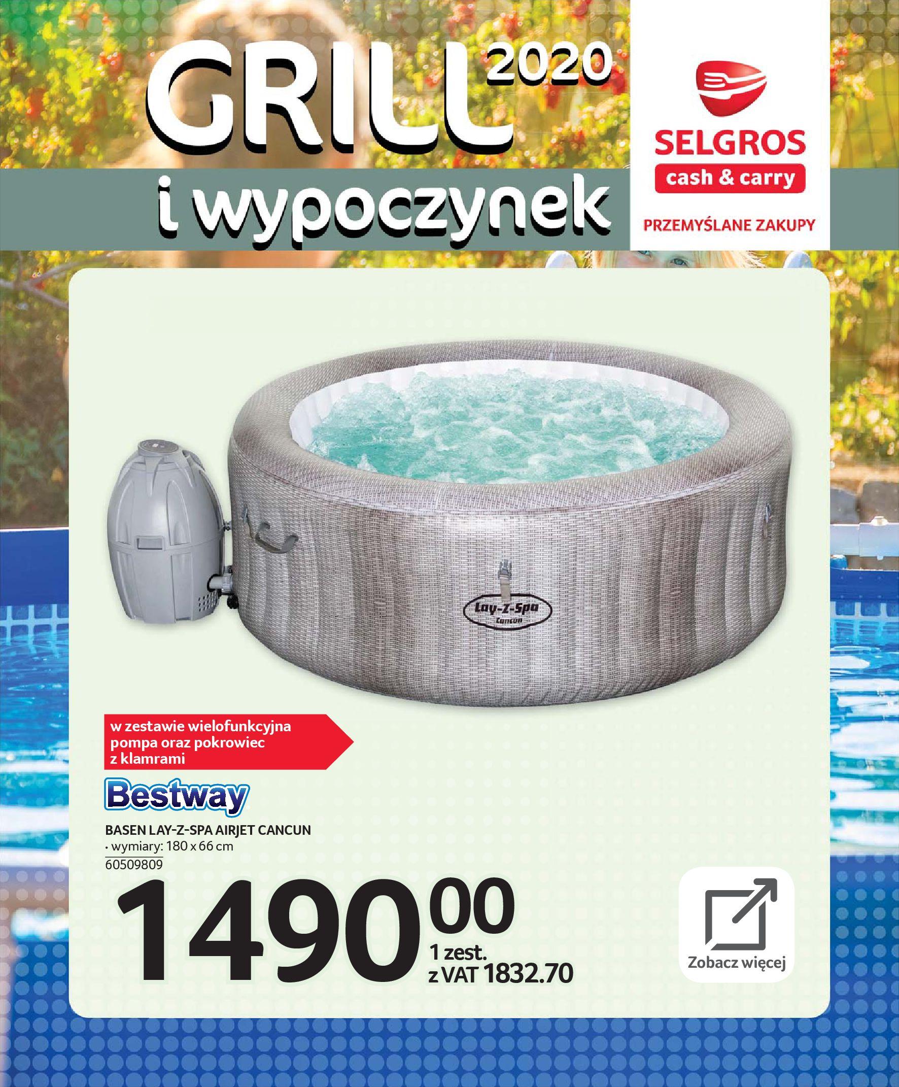 Gazetka Selgros - Katalog - Grill i wypoczynek-31.03.2020-31.08.2020-page-83