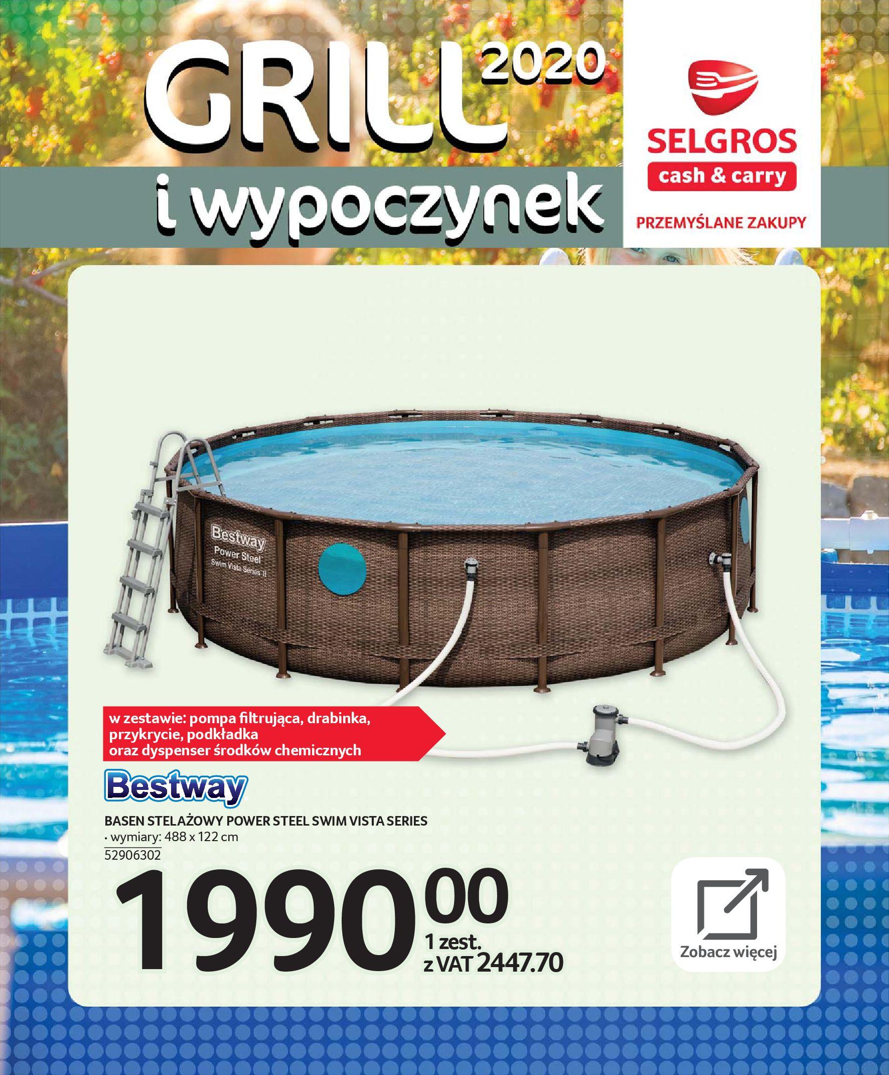 Gazetka Selgros - Katalog - Grill i wypoczynek-31.03.2020-31.08.2020-page-84