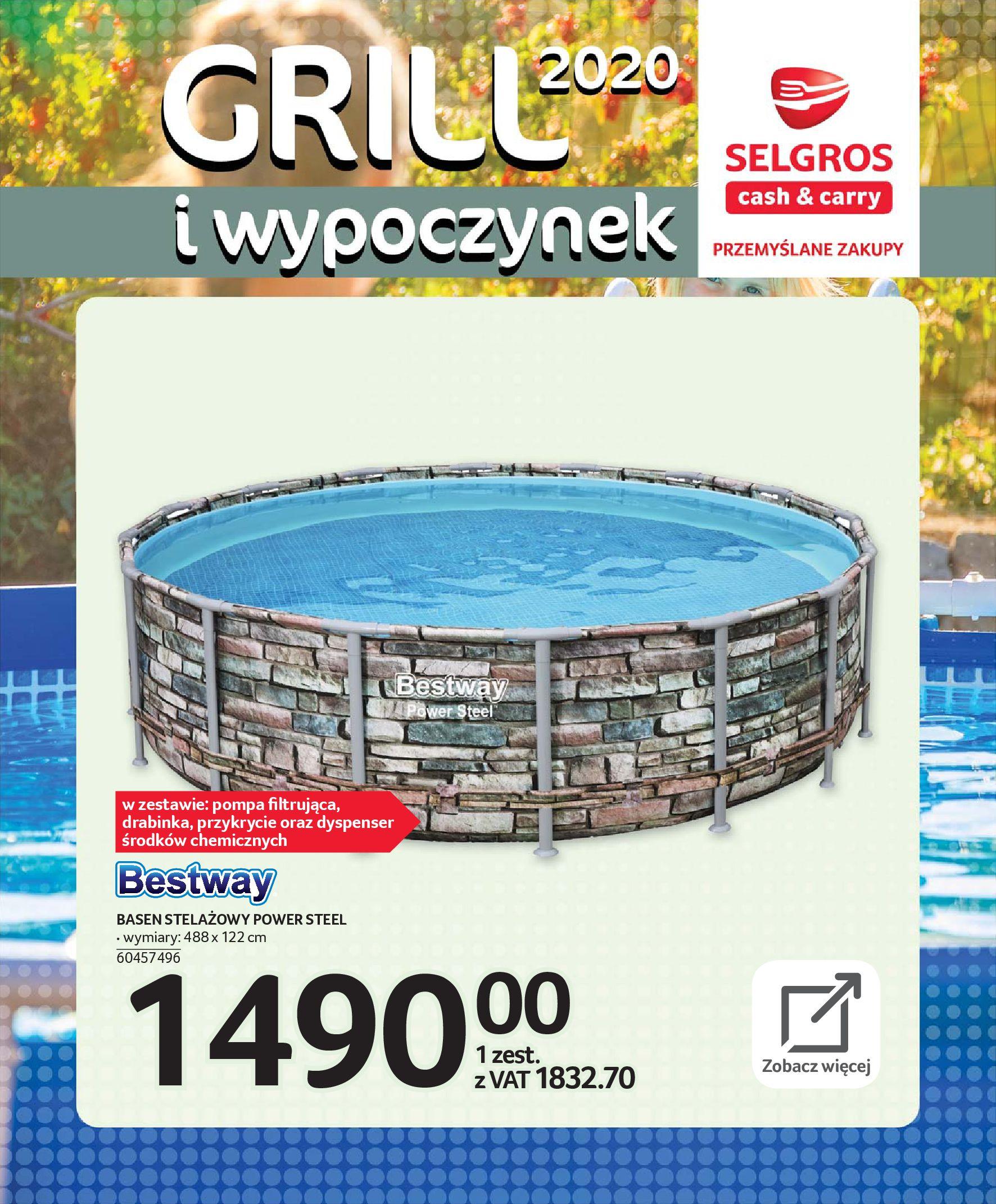 Gazetka Selgros - Katalog - Grill i wypoczynek-31.03.2020-31.08.2020-page-85