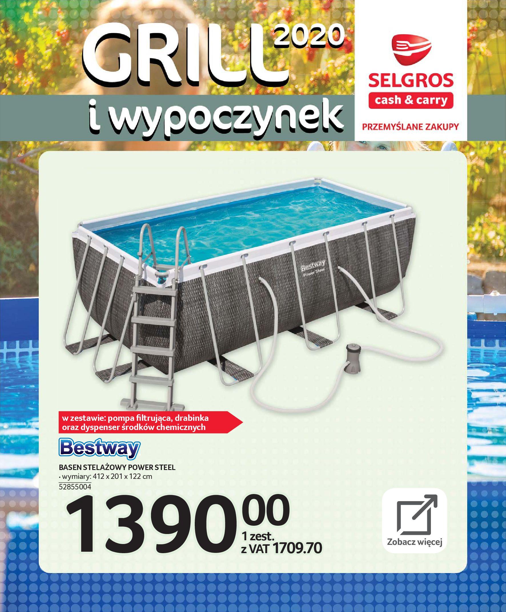 Gazetka Selgros - Katalog - Grill i wypoczynek-31.03.2020-31.08.2020-page-86