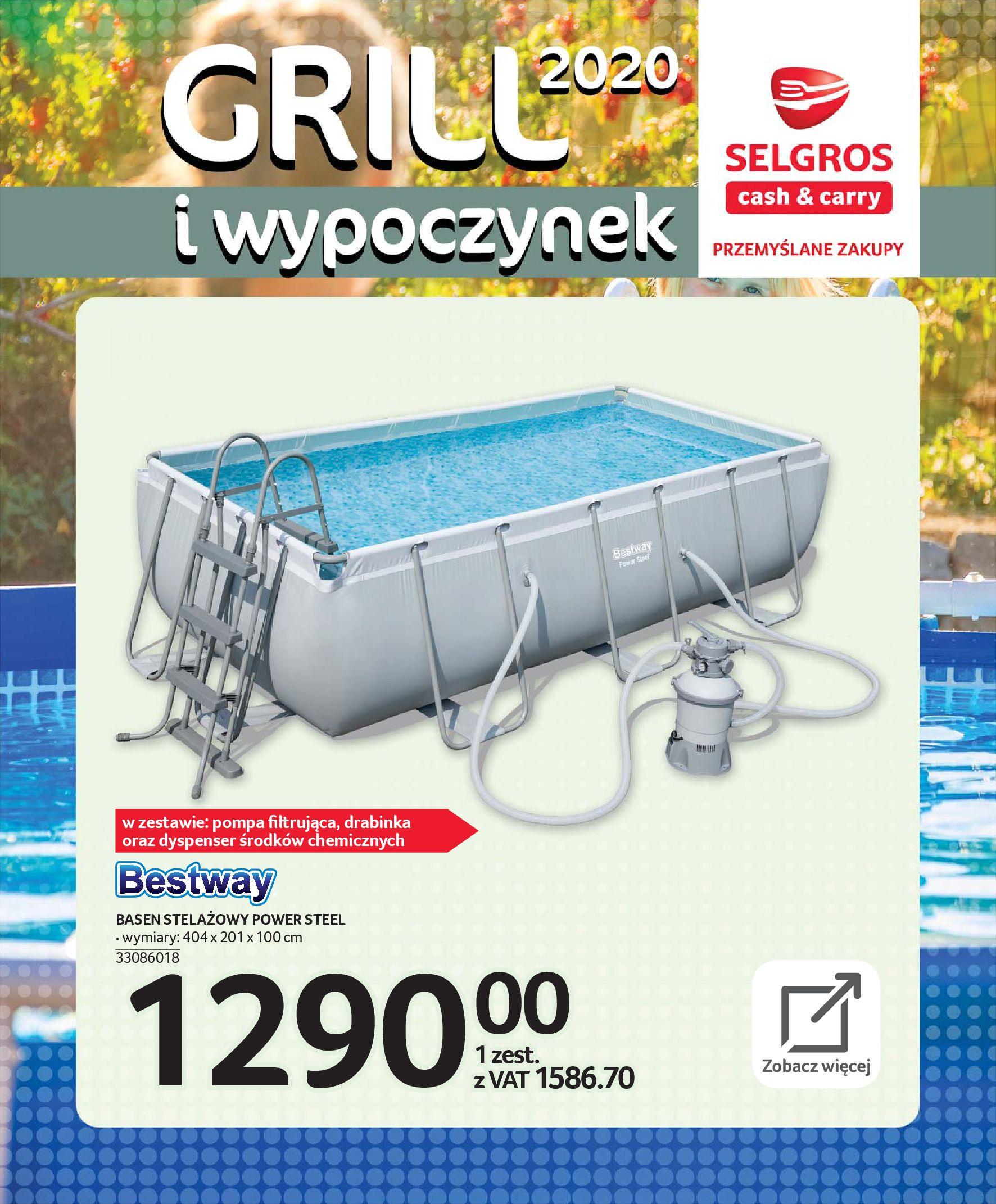 Gazetka Selgros - Katalog - Grill i wypoczynek-31.03.2020-31.08.2020-page-87