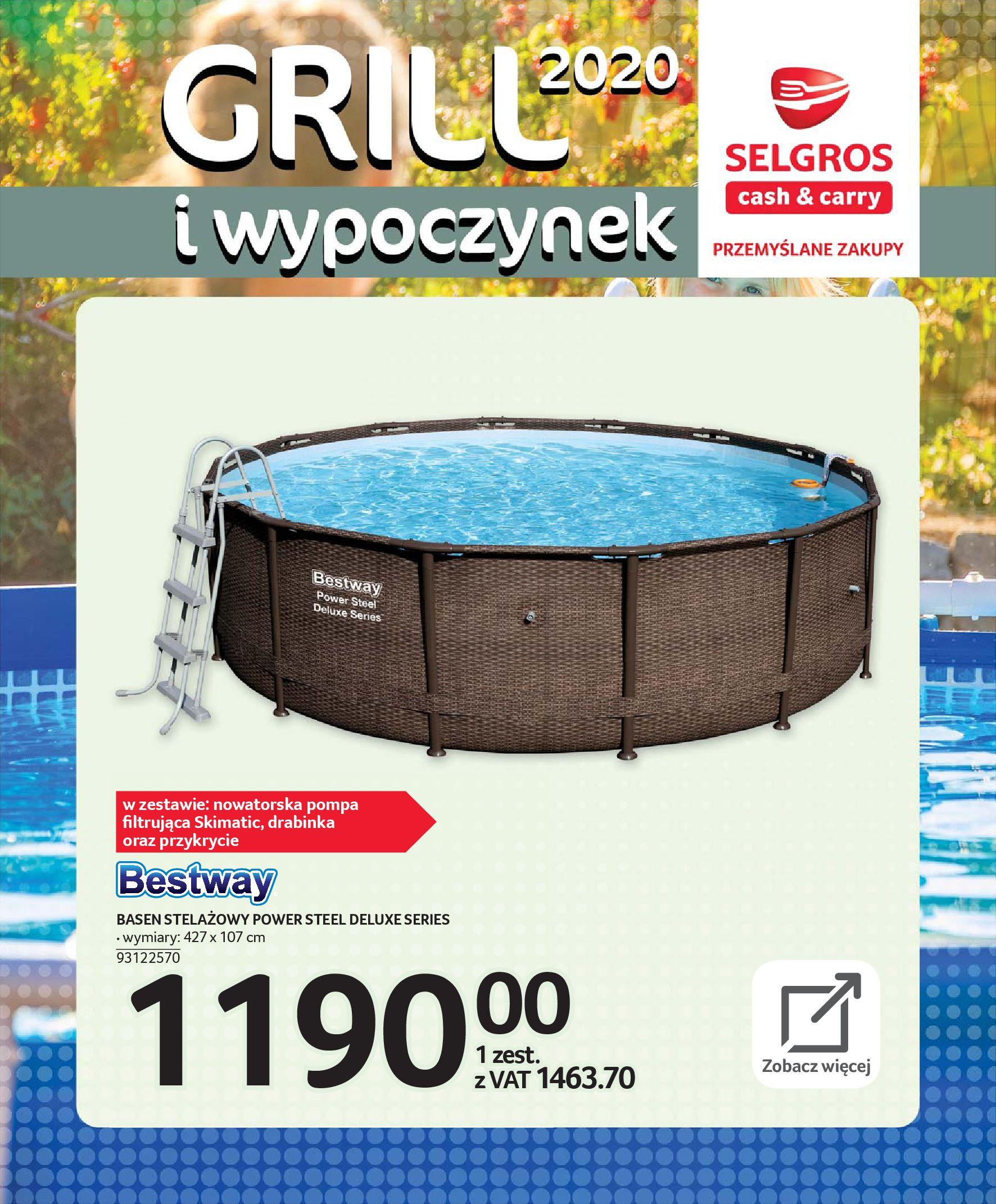 Gazetka Selgros - Katalog - Grill i wypoczynek-31.03.2020-31.08.2020-page-89