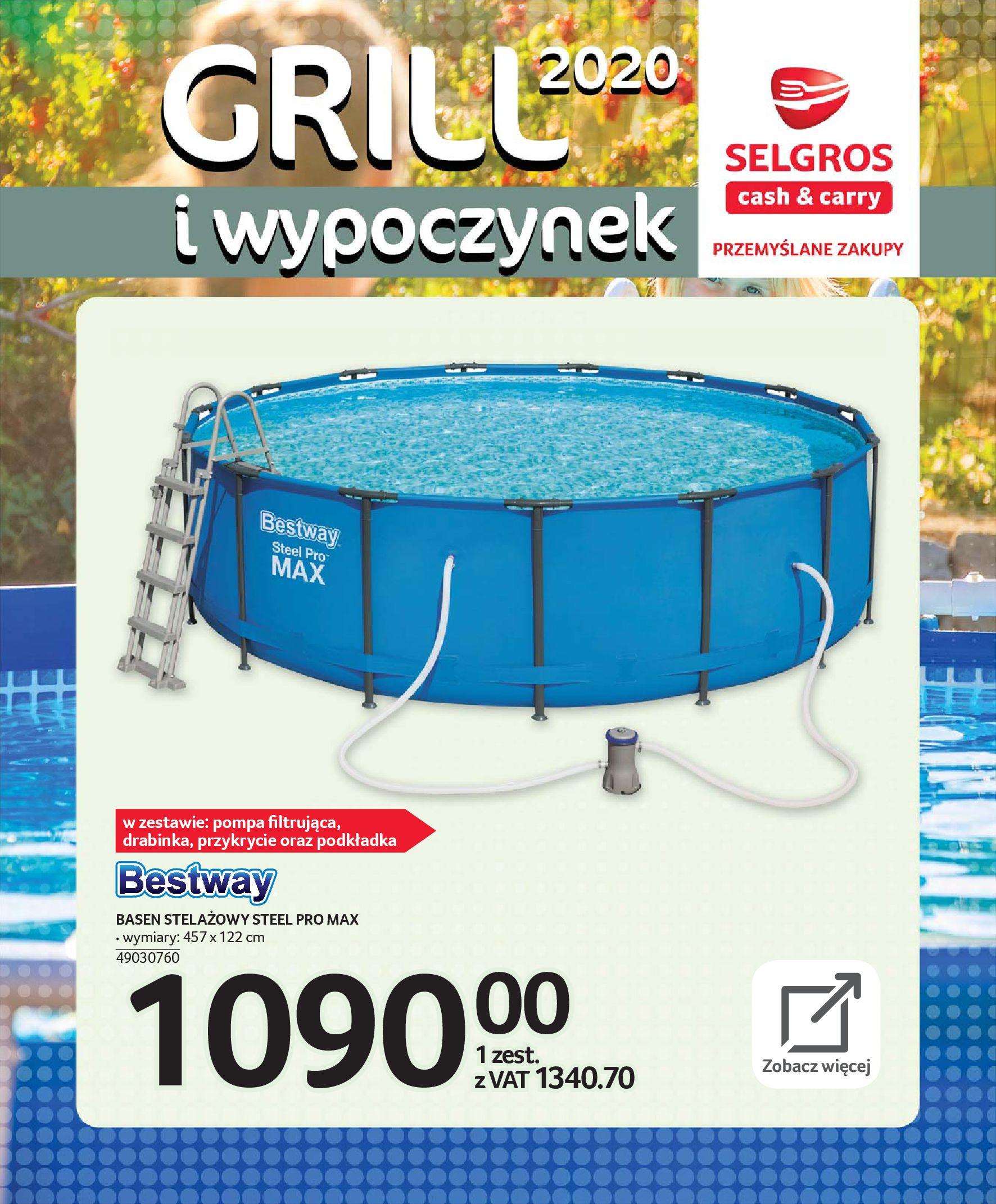 Gazetka Selgros - Katalog - Grill i wypoczynek-31.03.2020-31.08.2020-page-90