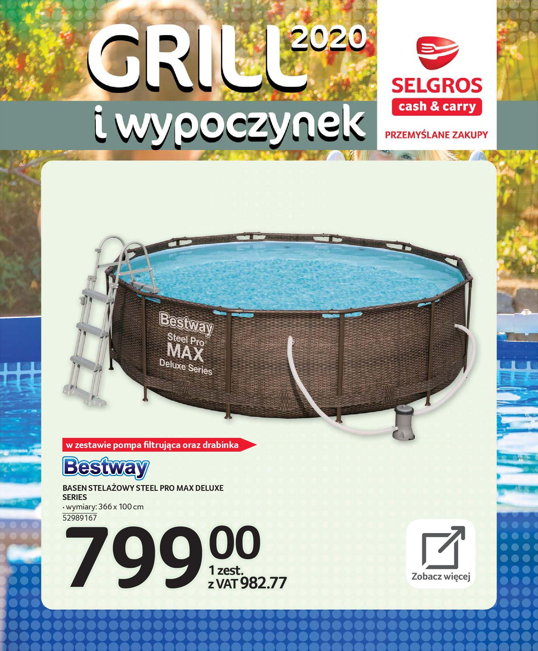 Gazetka Selgros - Katalog - Grill i wypoczynek-31.03.2020-31.08.2020-page-91