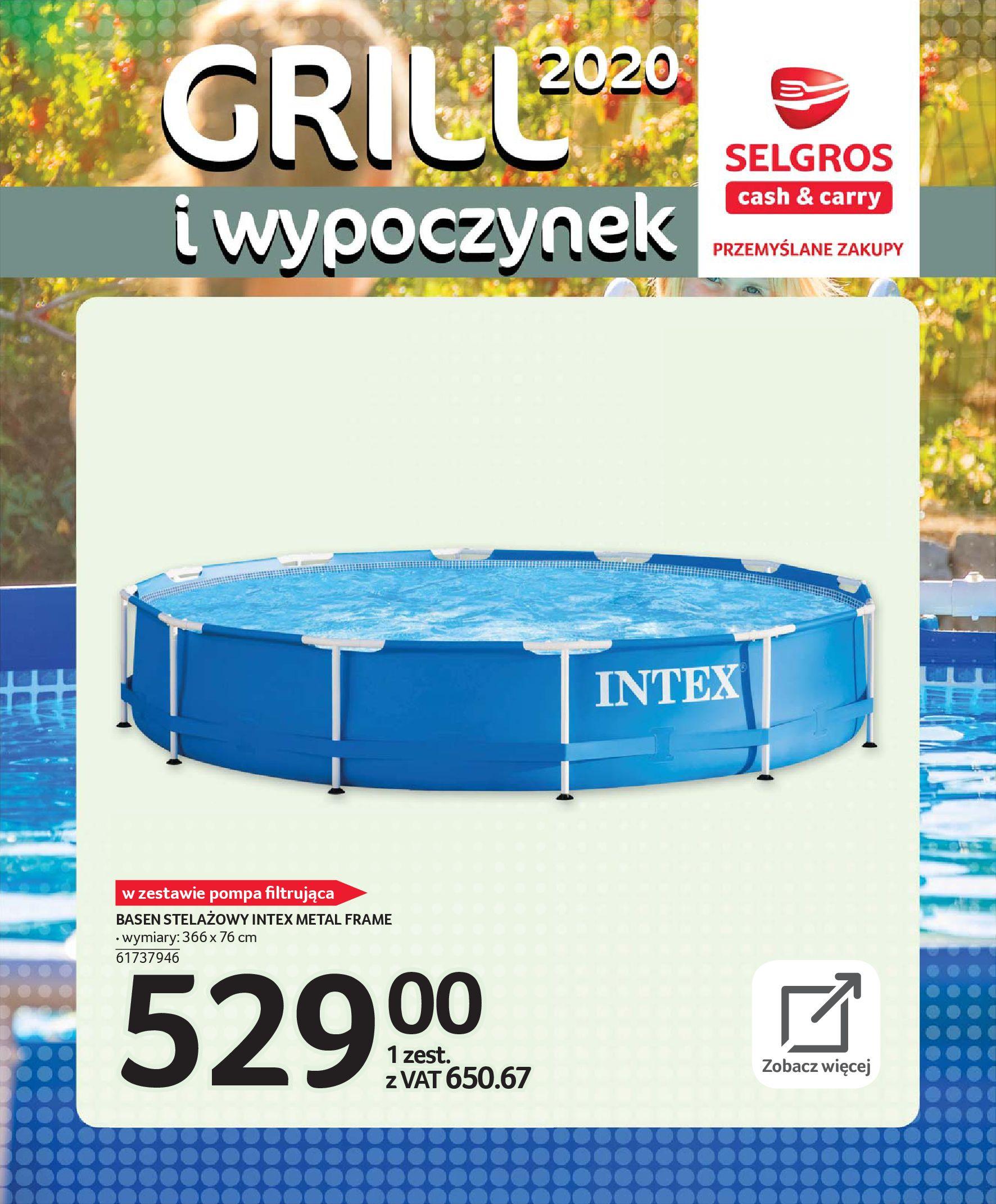 Gazetka Selgros - Katalog - Grill i wypoczynek-31.03.2020-31.08.2020-page-92