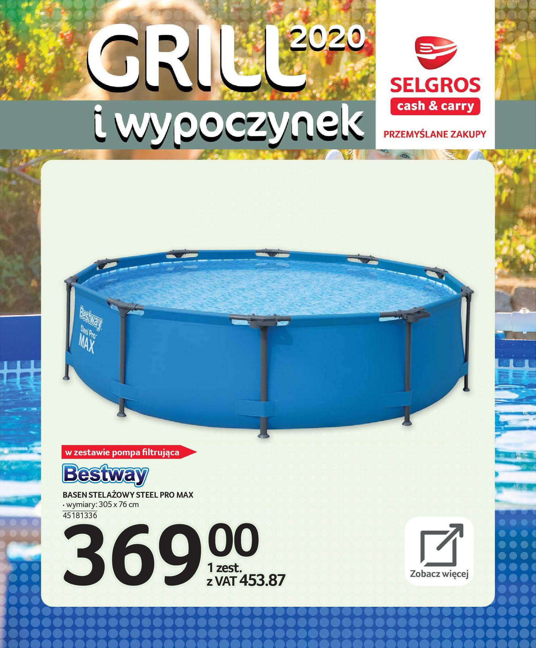 Gazetka Selgros - Katalog - Grill i wypoczynek-31.03.2020-31.08.2020-page-94