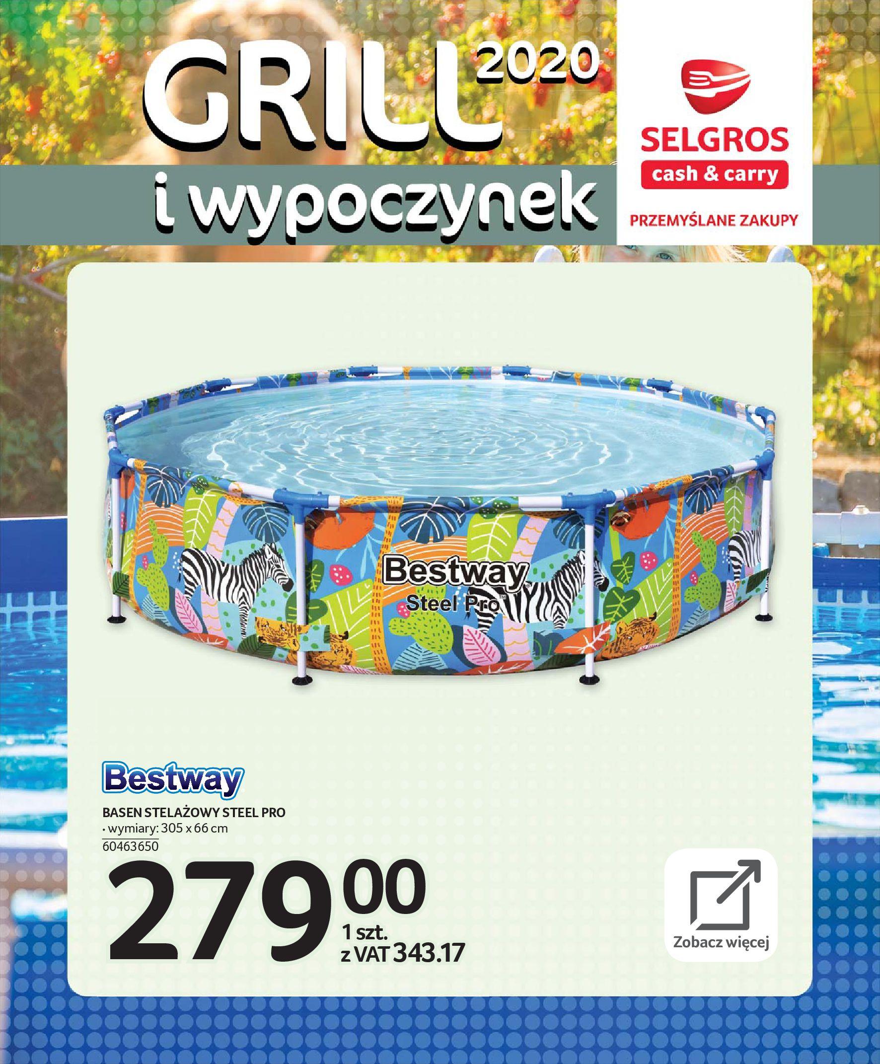 Gazetka Selgros - Katalog - Grill i wypoczynek-31.03.2020-31.08.2020-page-95