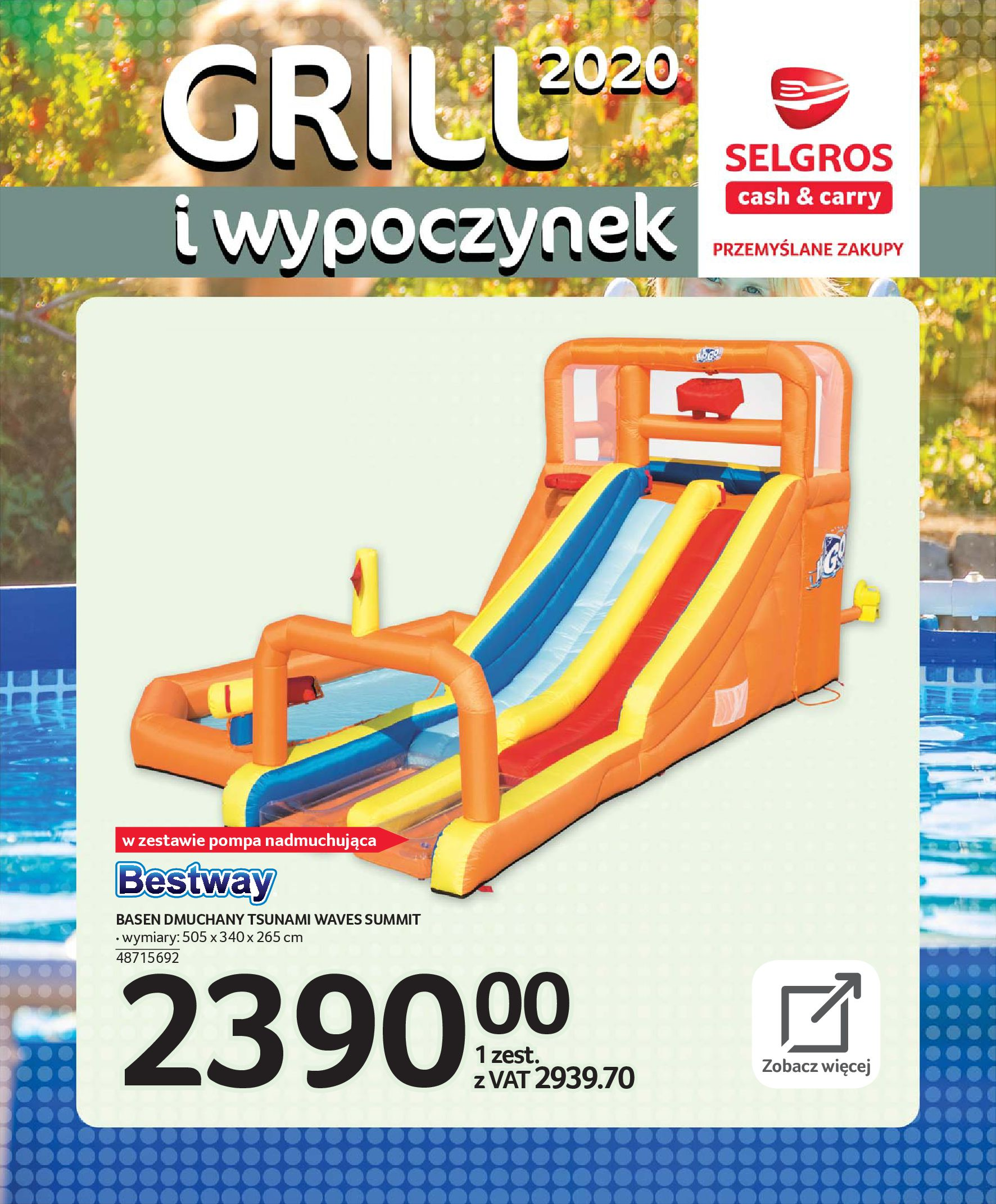 Gazetka Selgros - Katalog - Grill i wypoczynek-31.03.2020-31.08.2020-page-98