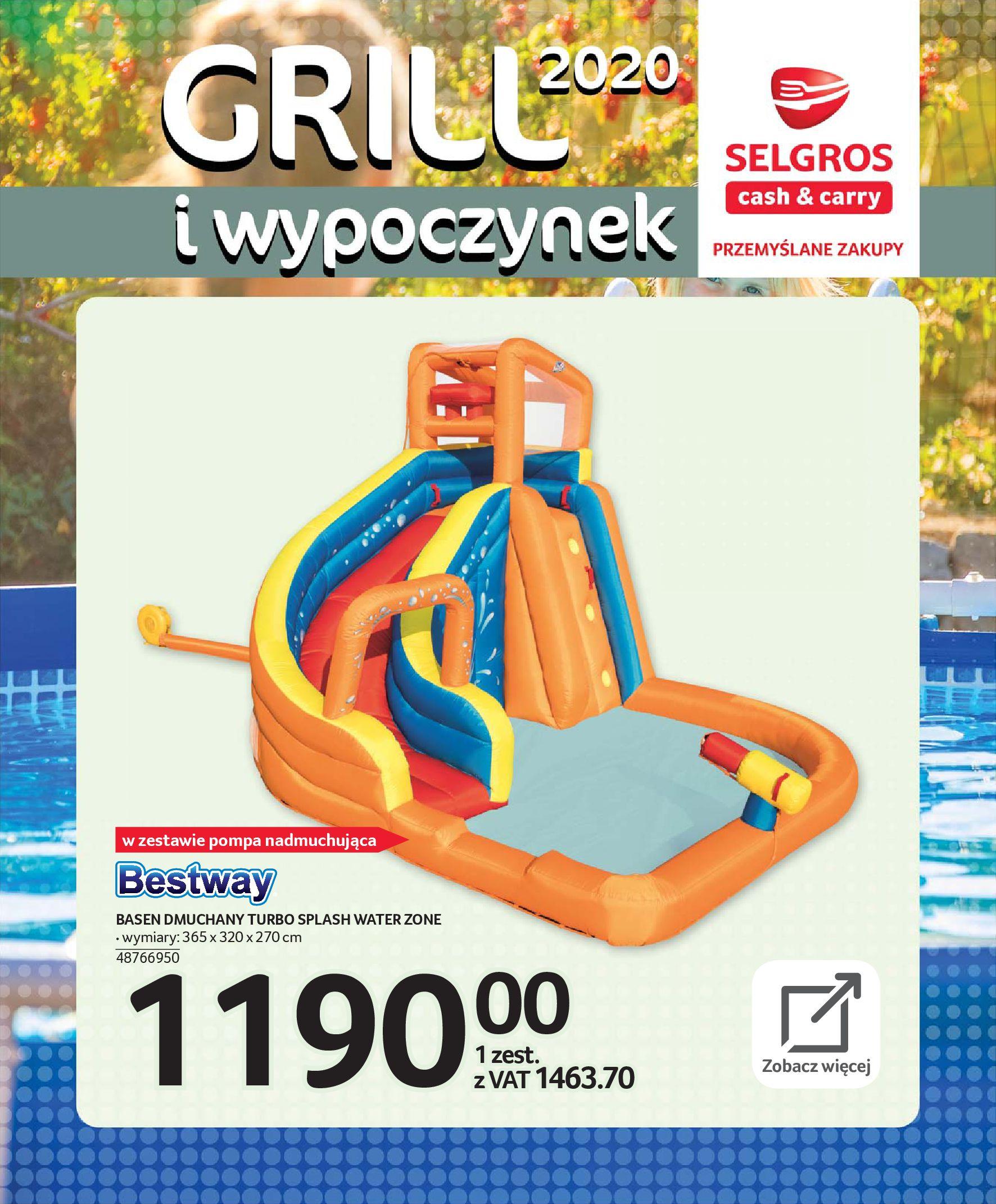 Gazetka Selgros - Katalog - Grill i wypoczynek-31.03.2020-31.08.2020-page-99