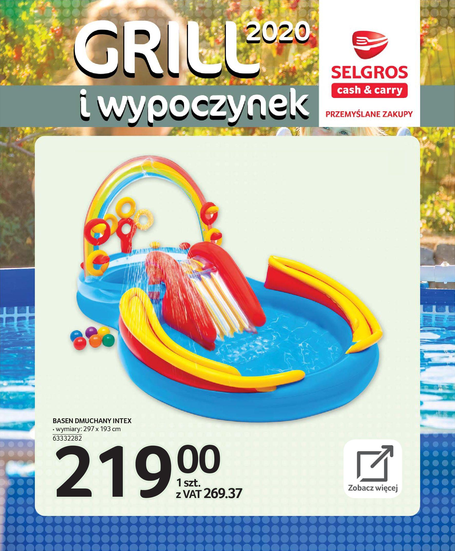 Gazetka Selgros - Katalog - Grill i wypoczynek-31.03.2020-31.08.2020-page-100