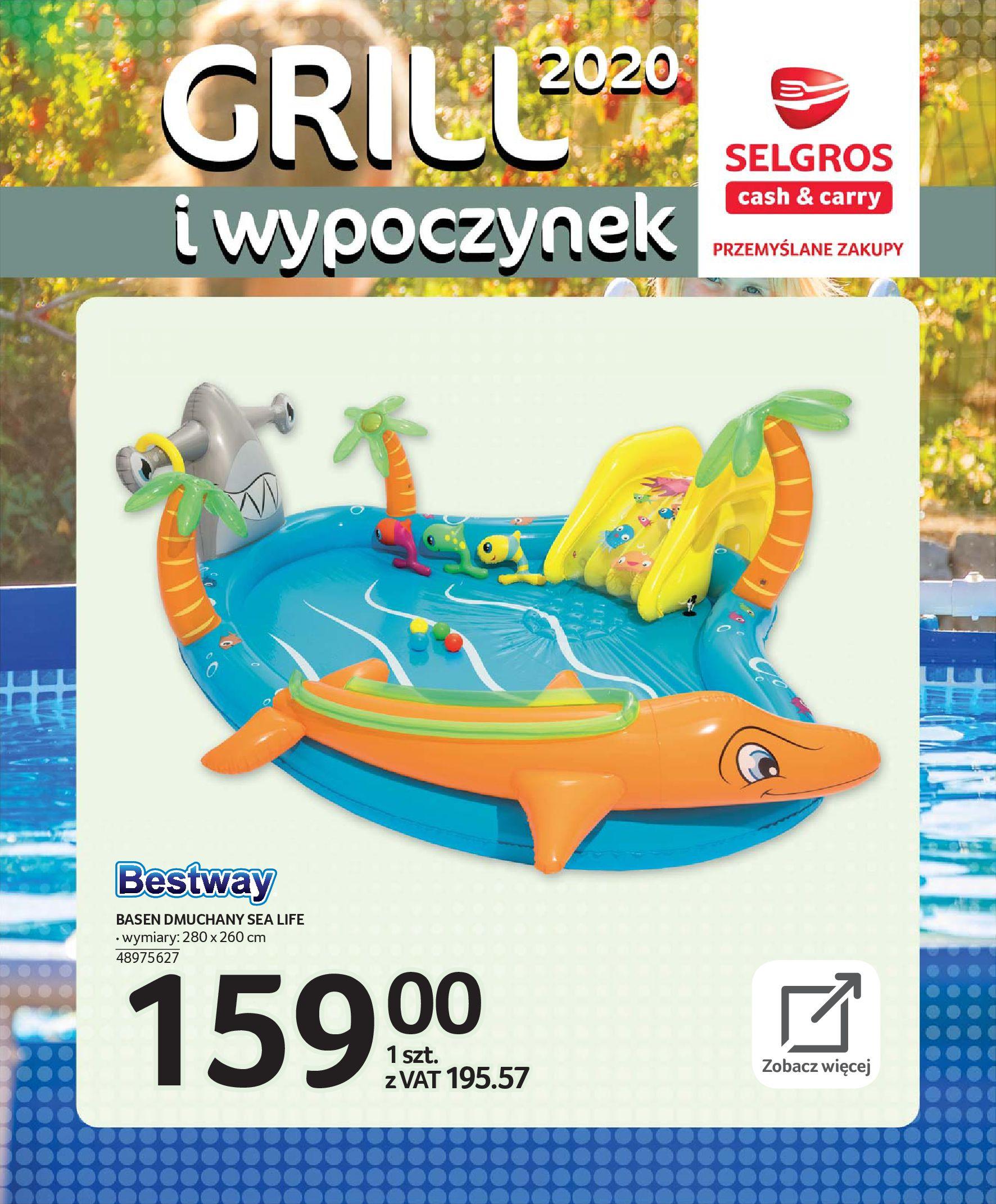 Gazetka Selgros - Katalog - Grill i wypoczynek-31.03.2020-31.08.2020-page-102