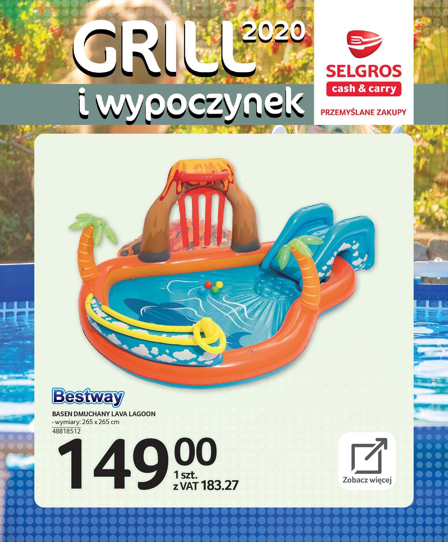 Gazetka Selgros - Katalog - Grill i wypoczynek-31.03.2020-31.08.2020-page-103