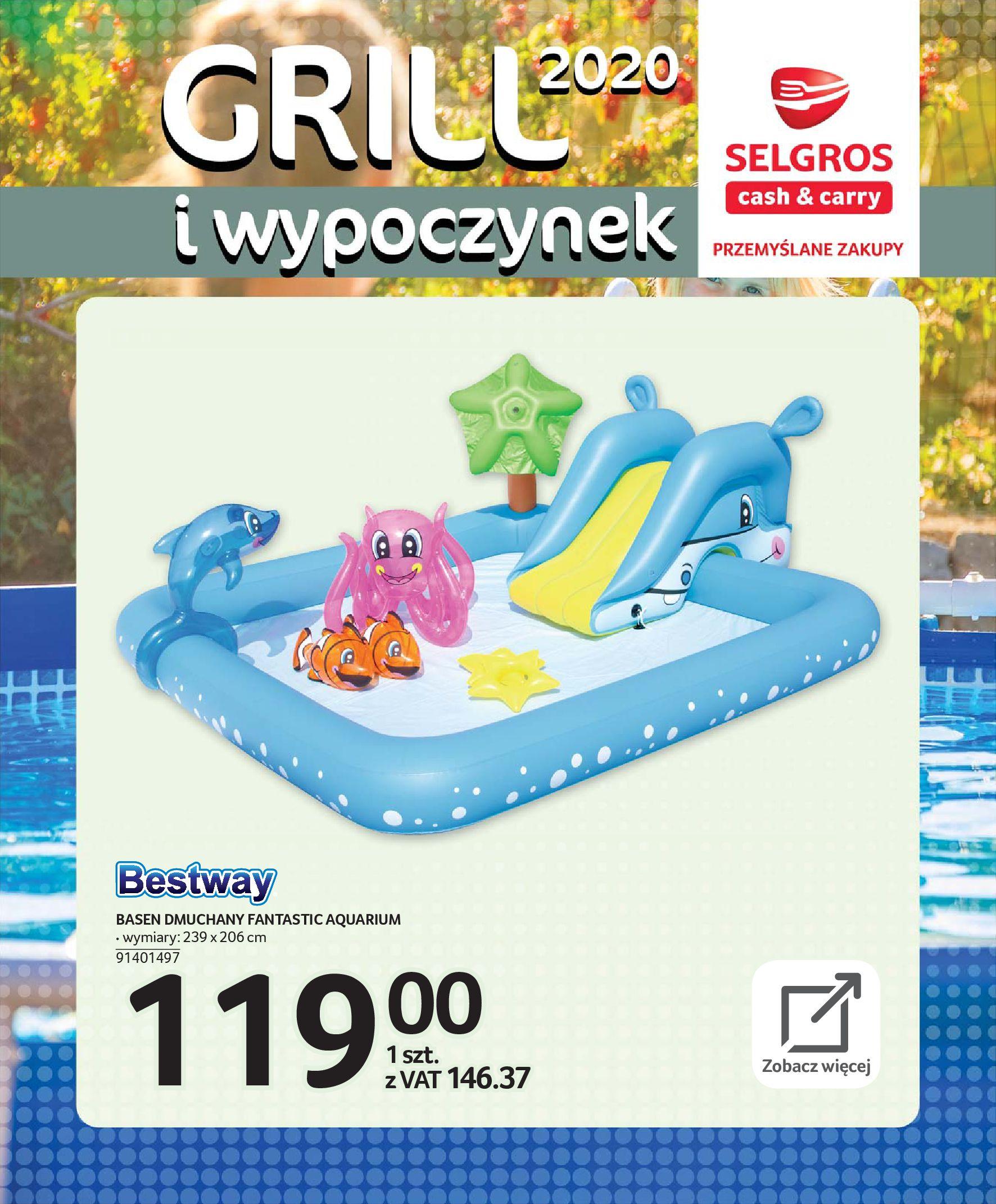 Gazetka Selgros - Katalog - Grill i wypoczynek-31.03.2020-31.08.2020-page-104
