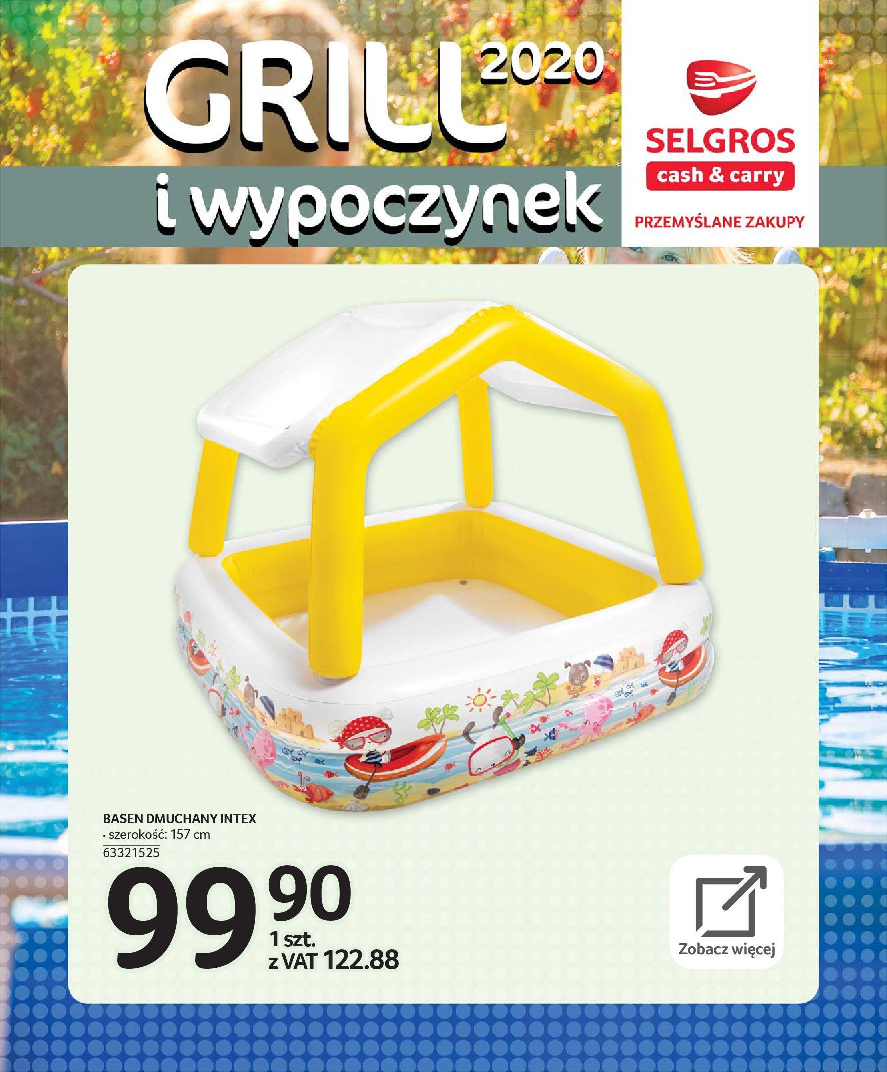 Gazetka Selgros - Katalog - Grill i wypoczynek-31.03.2020-31.08.2020-page-106