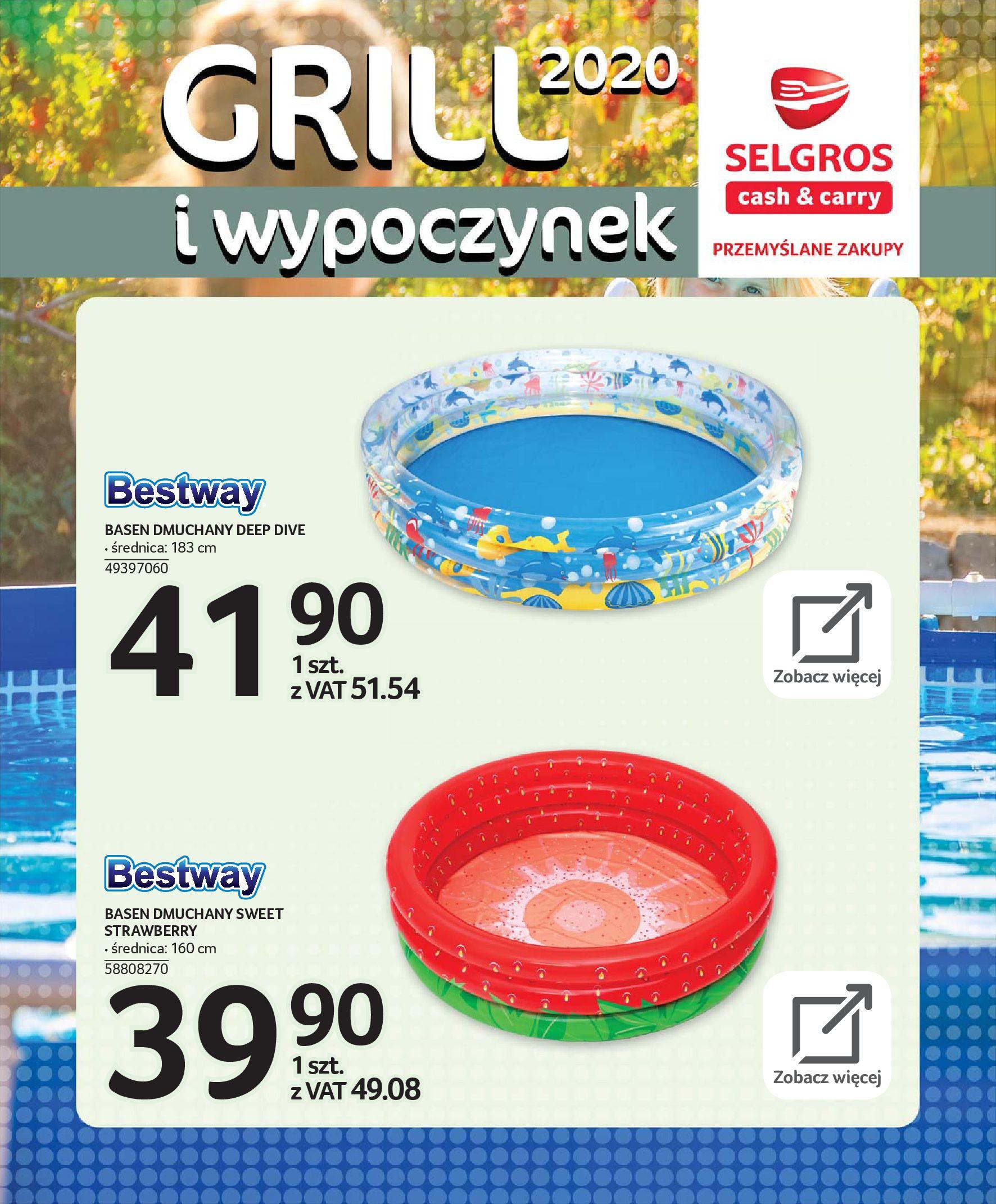 Gazetka Selgros - Katalog - Grill i wypoczynek-31.03.2020-31.08.2020-page-109