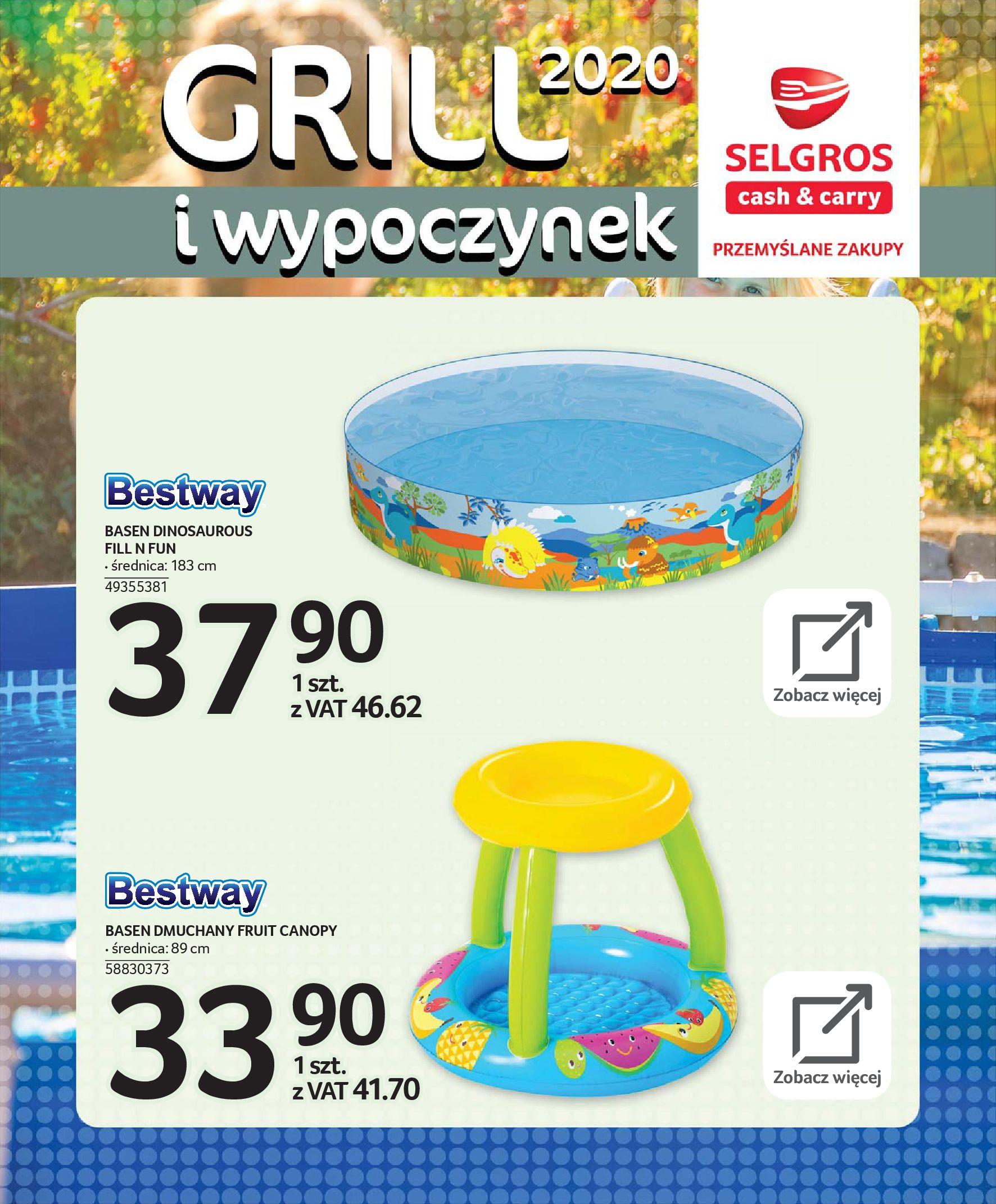 Gazetka Selgros - Katalog - Grill i wypoczynek-31.03.2020-31.08.2020-page-110