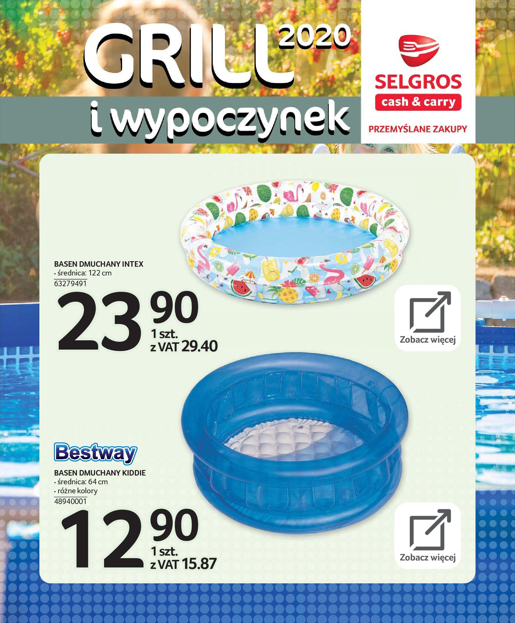 Gazetka Selgros - Katalog - Grill i wypoczynek-31.03.2020-31.08.2020-page-111