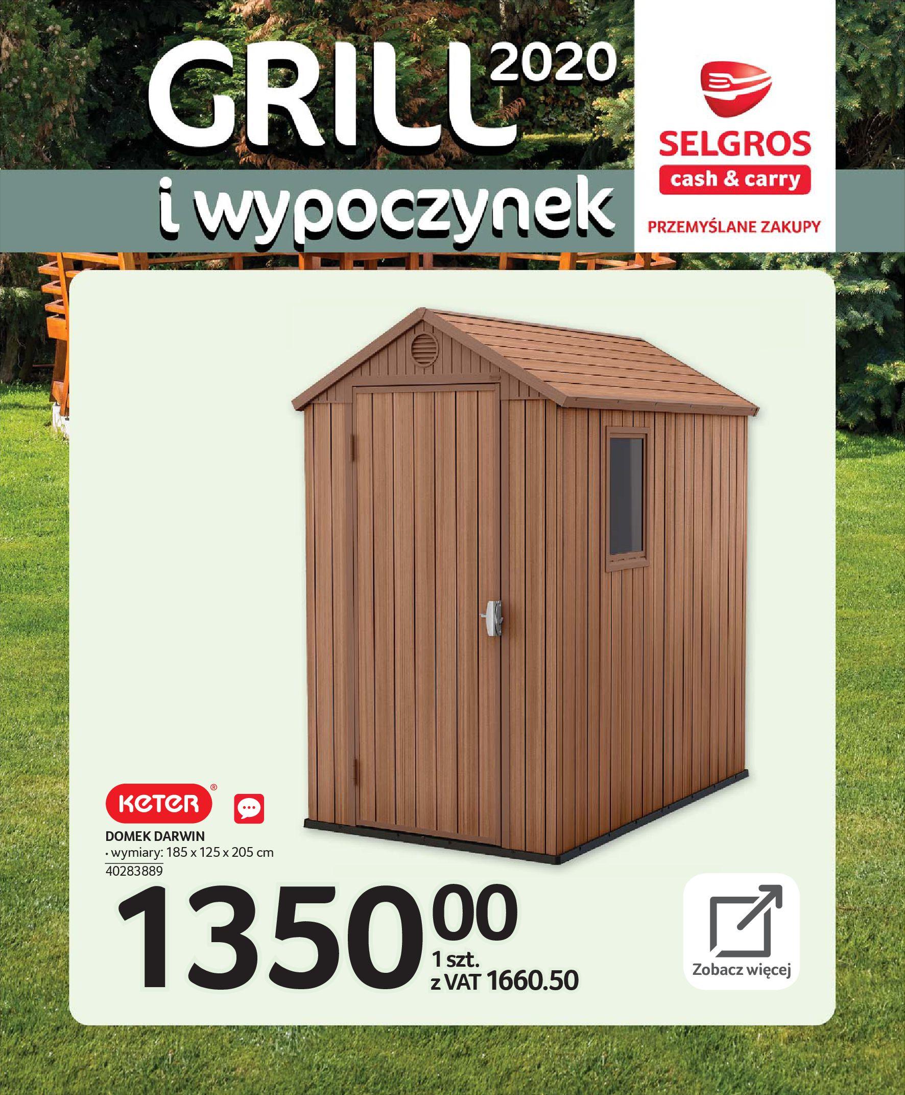 Gazetka Selgros - Katalog - Grill i wypoczynek-31.03.2020-31.08.2020-page-26