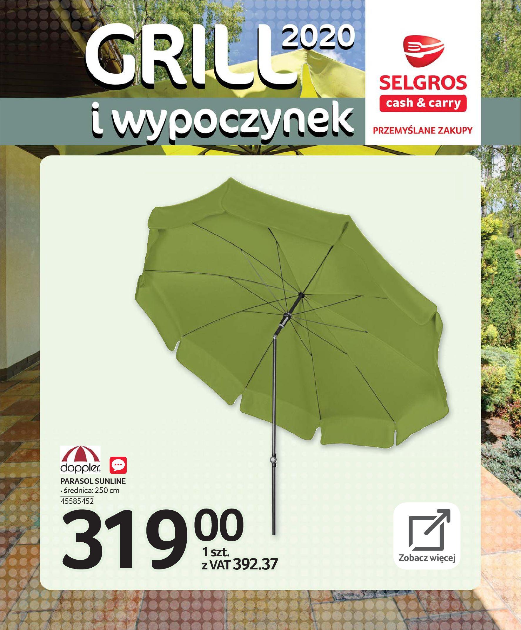 Gazetka Selgros - Katalog - Grill i wypoczynek-31.03.2020-31.08.2020-page-32